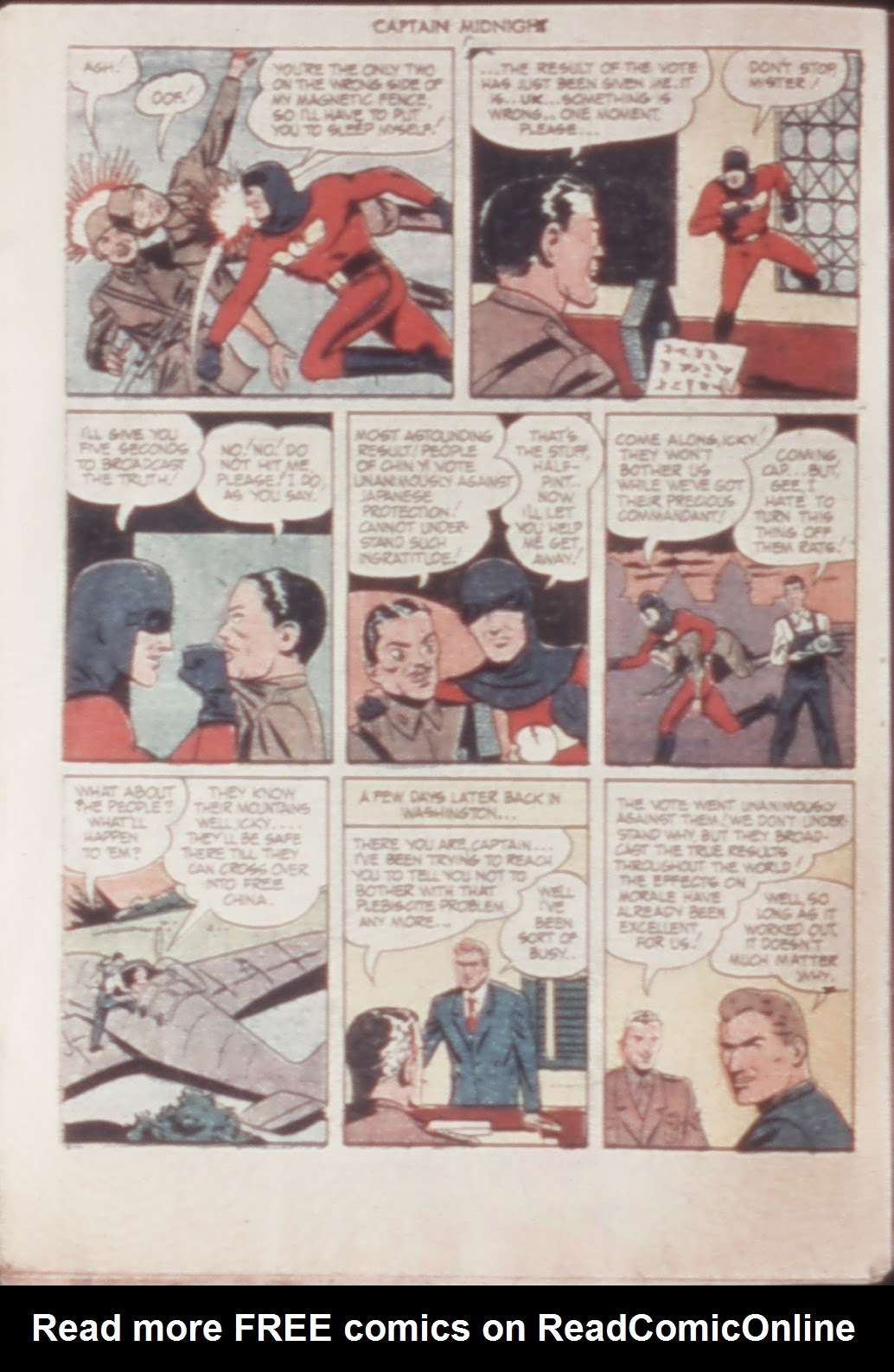 Captain Midnight (1942) issue 21 - Page 32