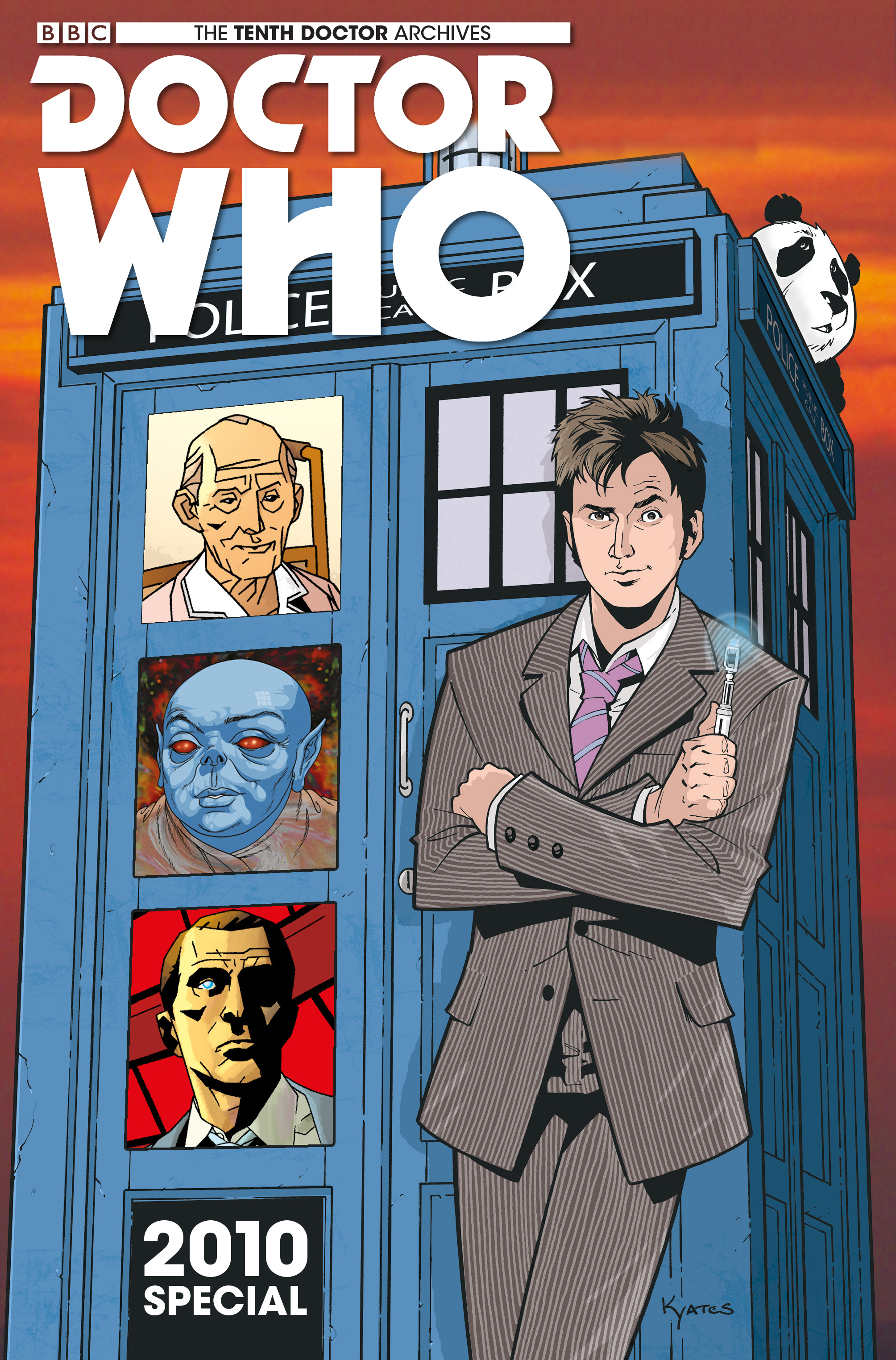 Read online Doctor Who: The Tenth Doctor Archives comic -  Issue #35 - 1