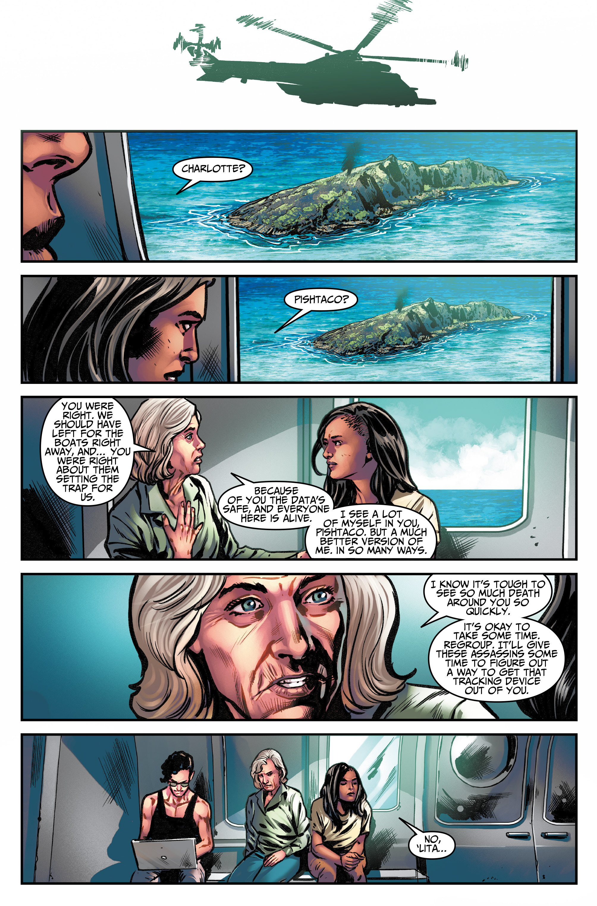 Read online Assassin's Creed (2015) comic -  Issue #14 - 29