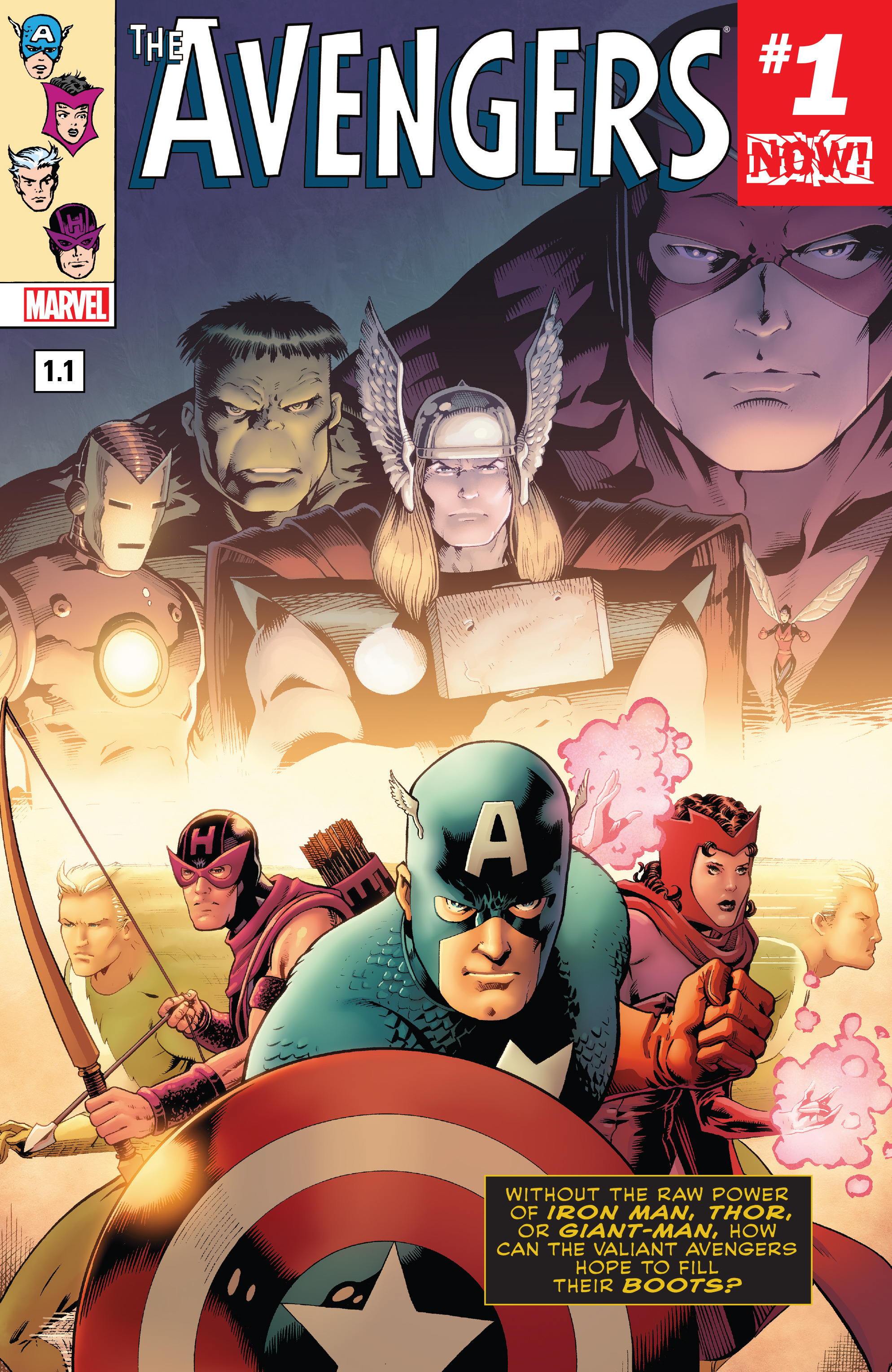 Read online Avengers (2016) comic -  Issue #1.1 - 1
