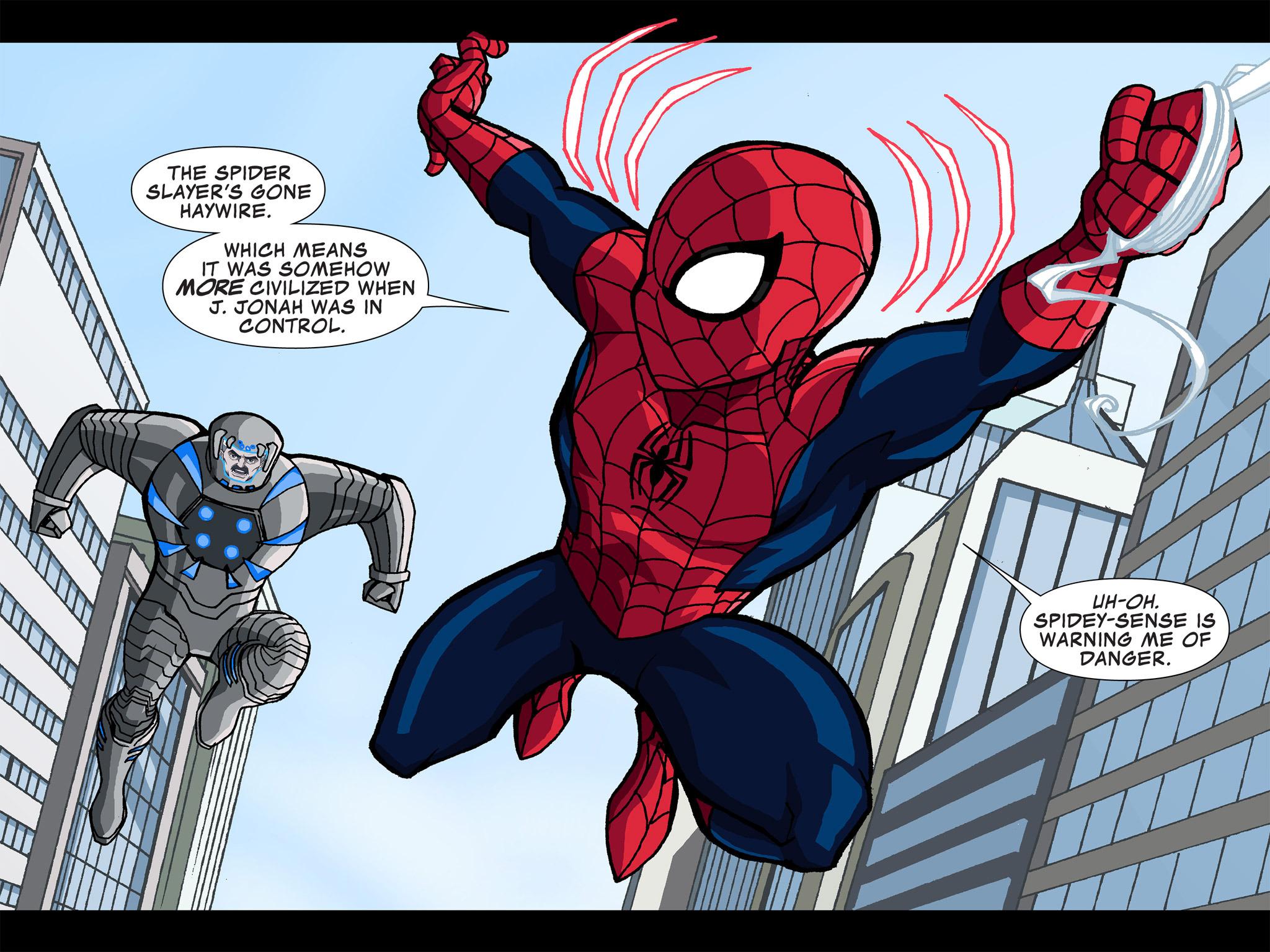 Read online Ultimate Spider-Man (Infinite Comics) (2015) comic -  Issue #4 - 23