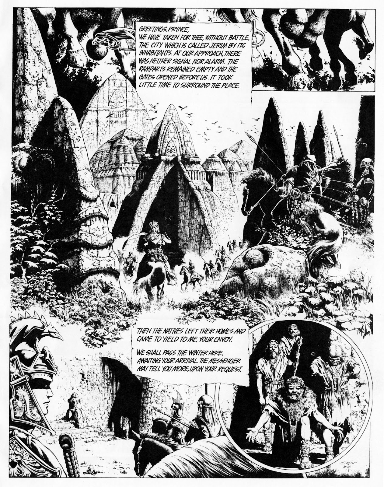 Conquering Armies issue TPB - Page 7