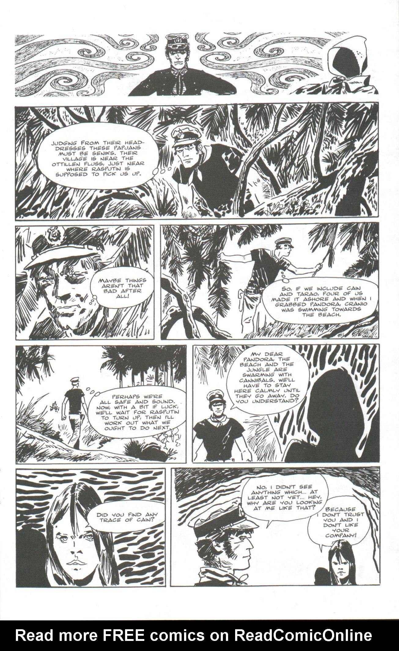 Read online Corto Maltese: Ballad of the Salt Sea comic -  Issue #2 - 9