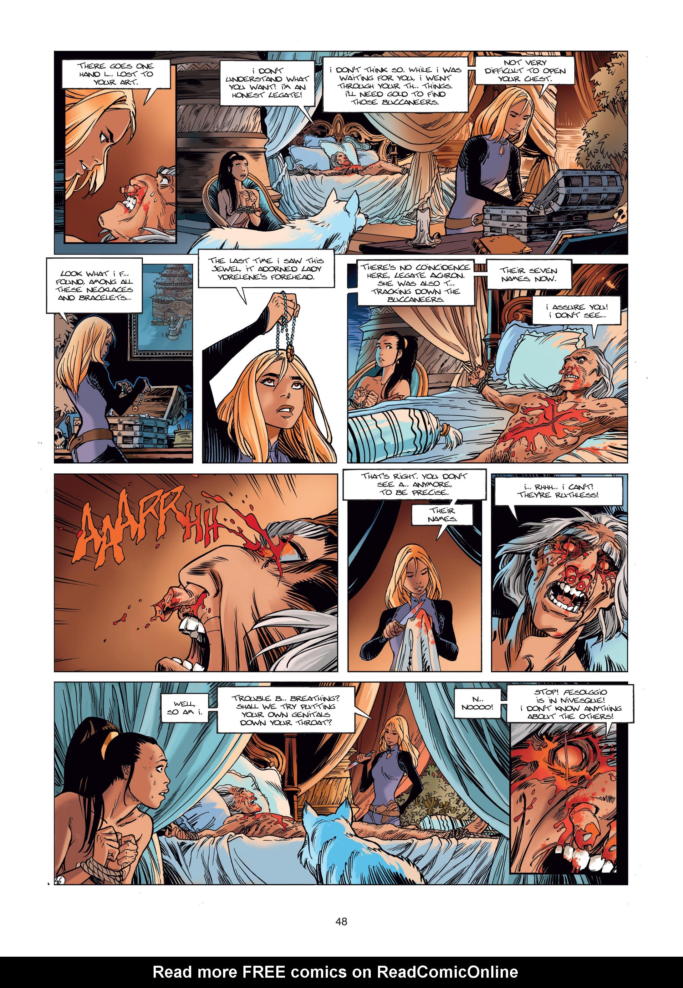 Read online Sangre Vol. 1: Sangre the Survivor comic -  Issue # Full - 48
