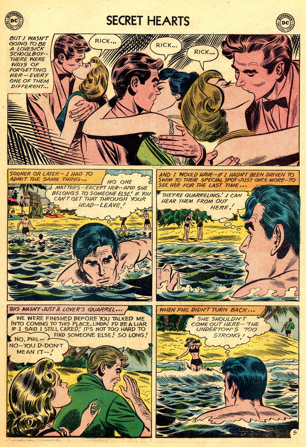 Read online Secret Hearts comic -  Issue #93 - 31