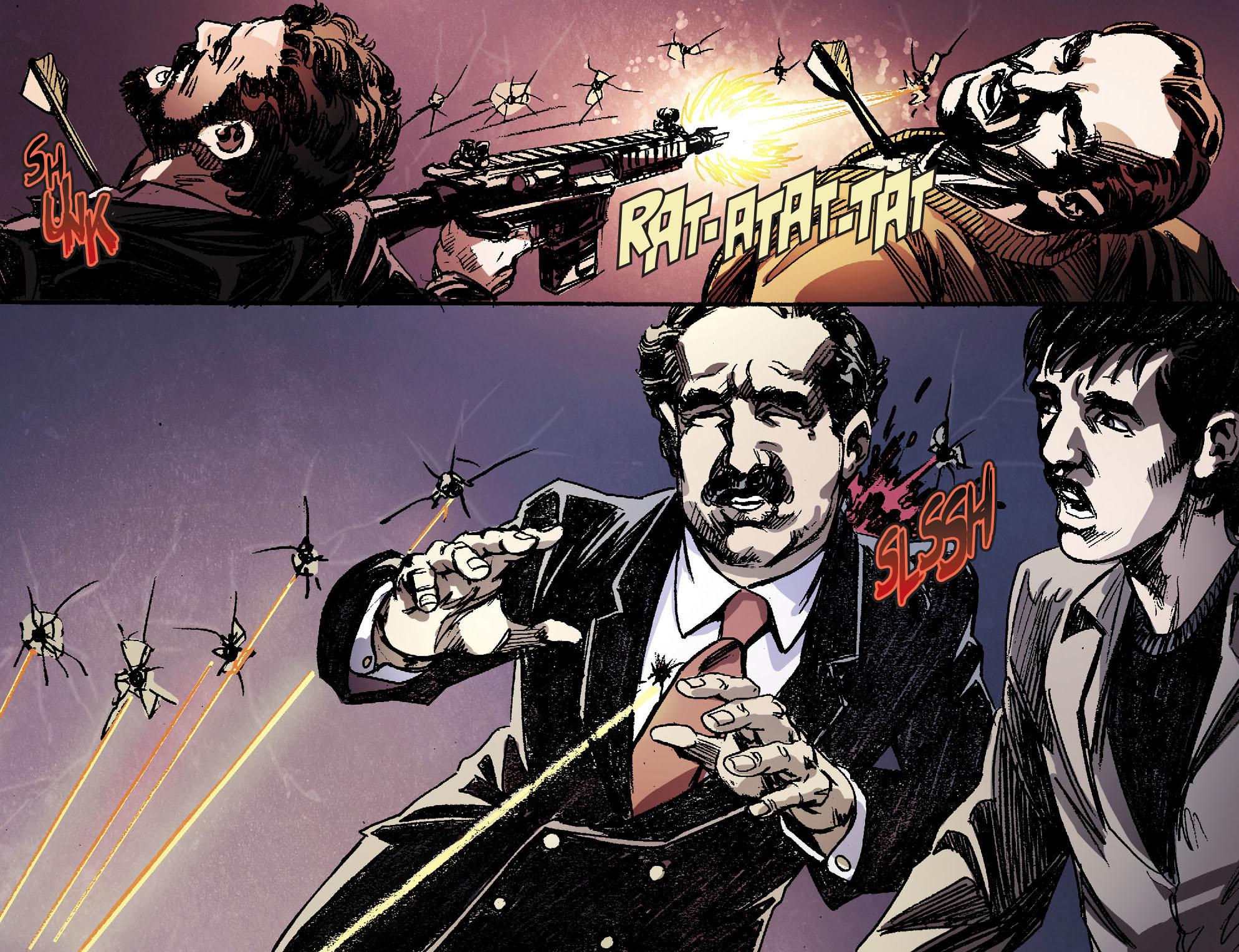 Read online Arrow [II] comic -  Issue #16 - 20