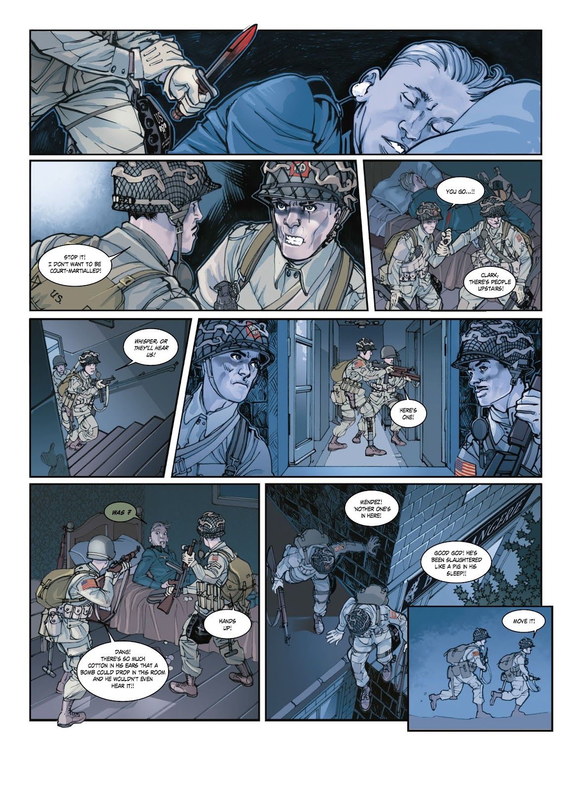 Read online Opération Overlord comic -  Issue #1 - 32