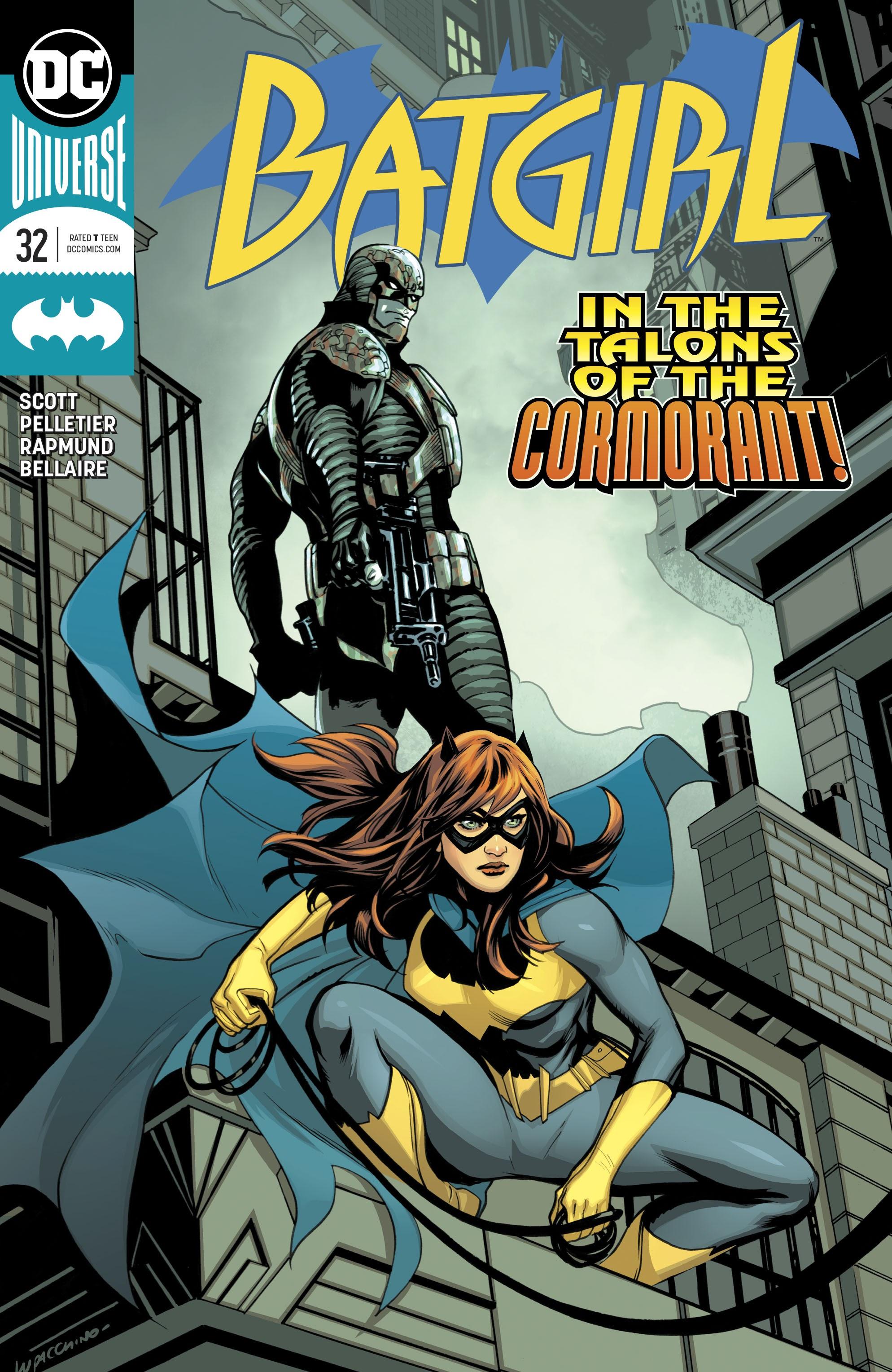 Batgirl (2016) 32 Page 1