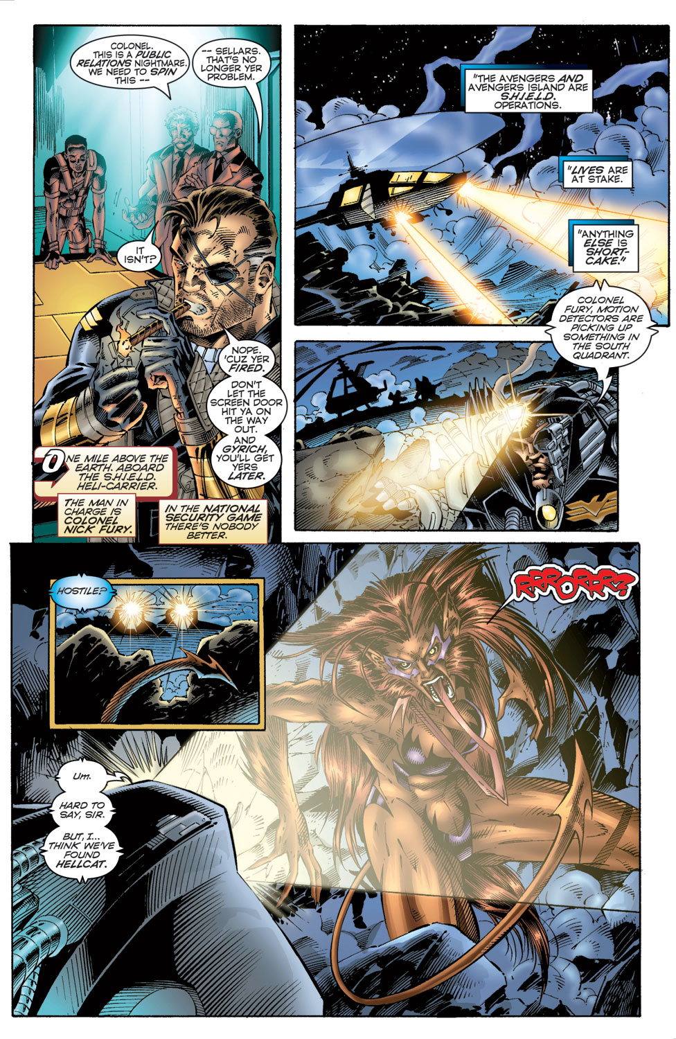 Read online Avengers (1996) comic -  Issue #6 - 6