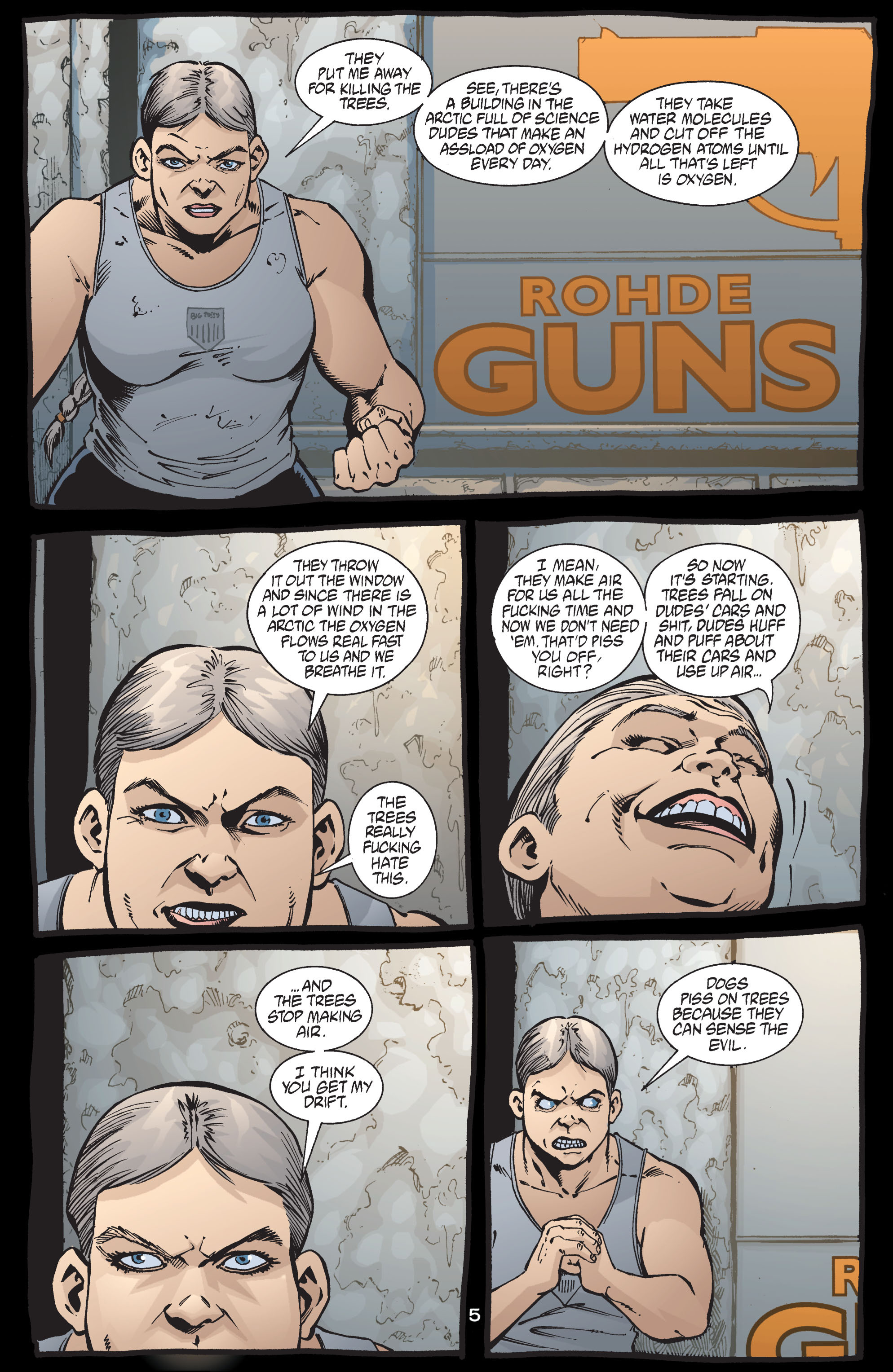 Read online Transmetropolitan comic -  Issue #41 - 6