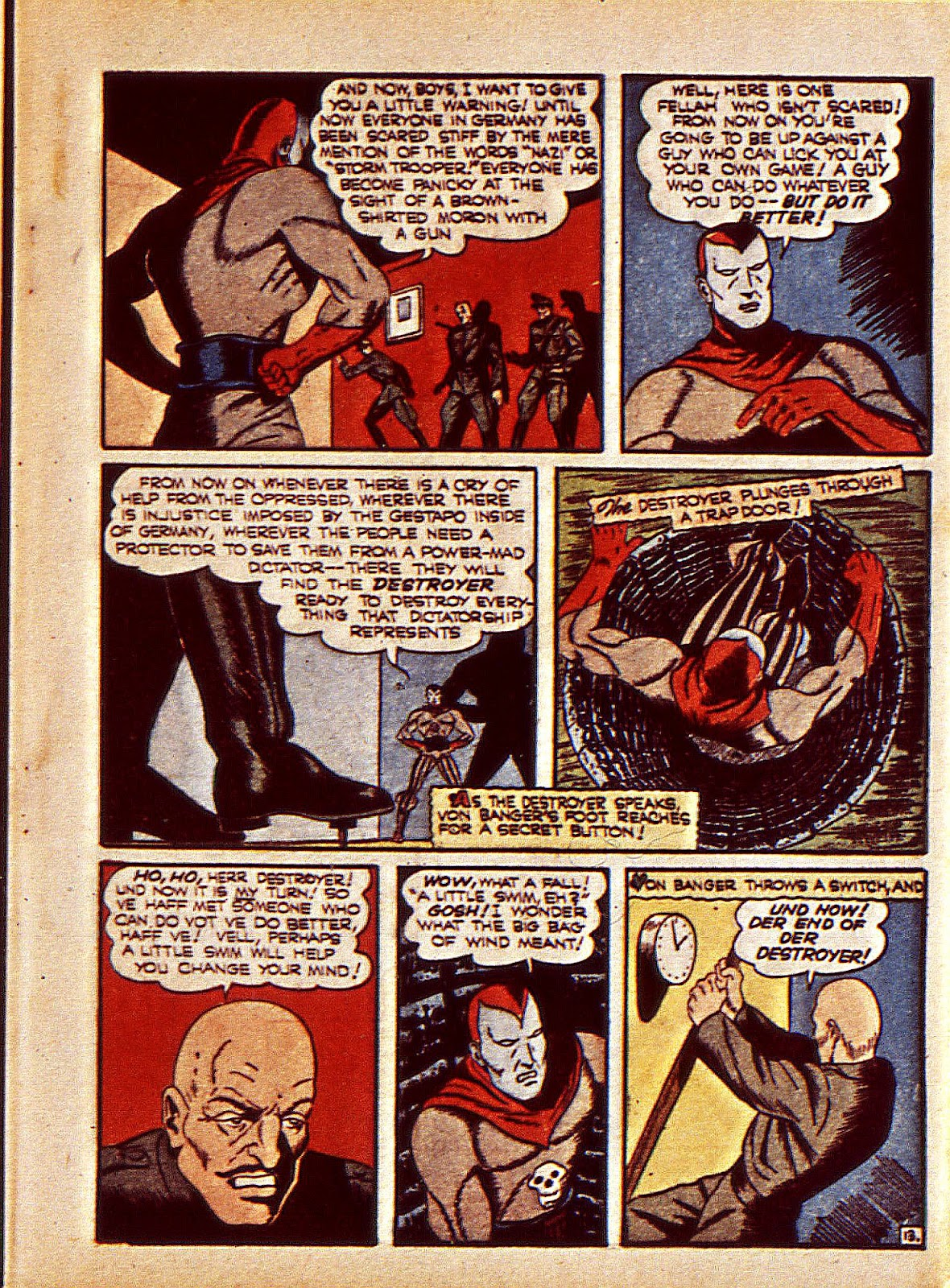 Mystic Comics (1940) issue 6 - Page 16
