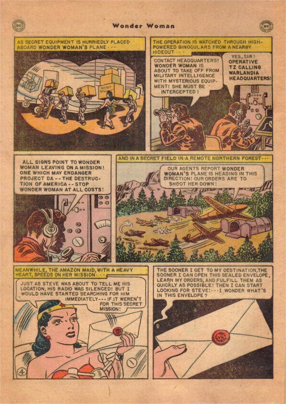 Read online Wonder Woman (1942) comic -  Issue #47 - 5