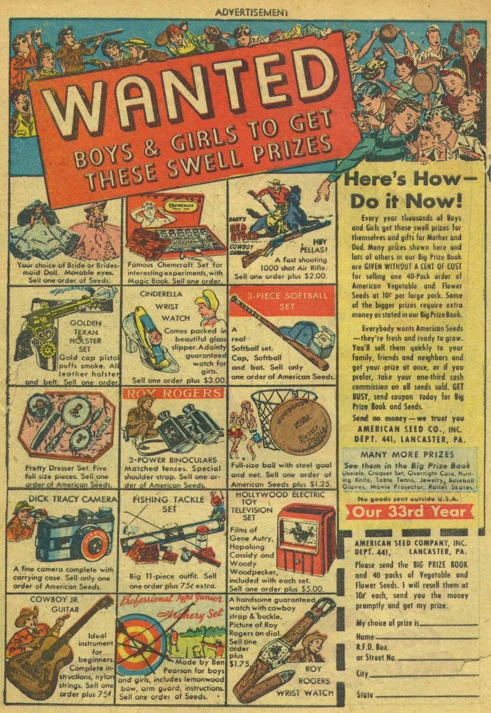 Read online Adventure Comics (1938) comic -  Issue #162 - 50