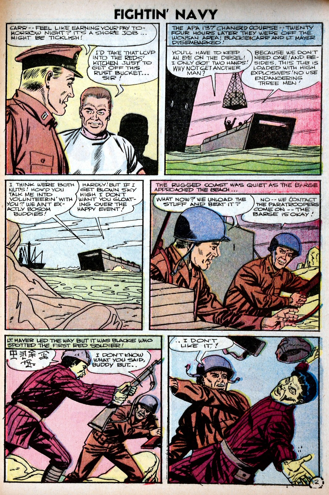 Read online Fightin' Navy comic -  Issue #75 - 29