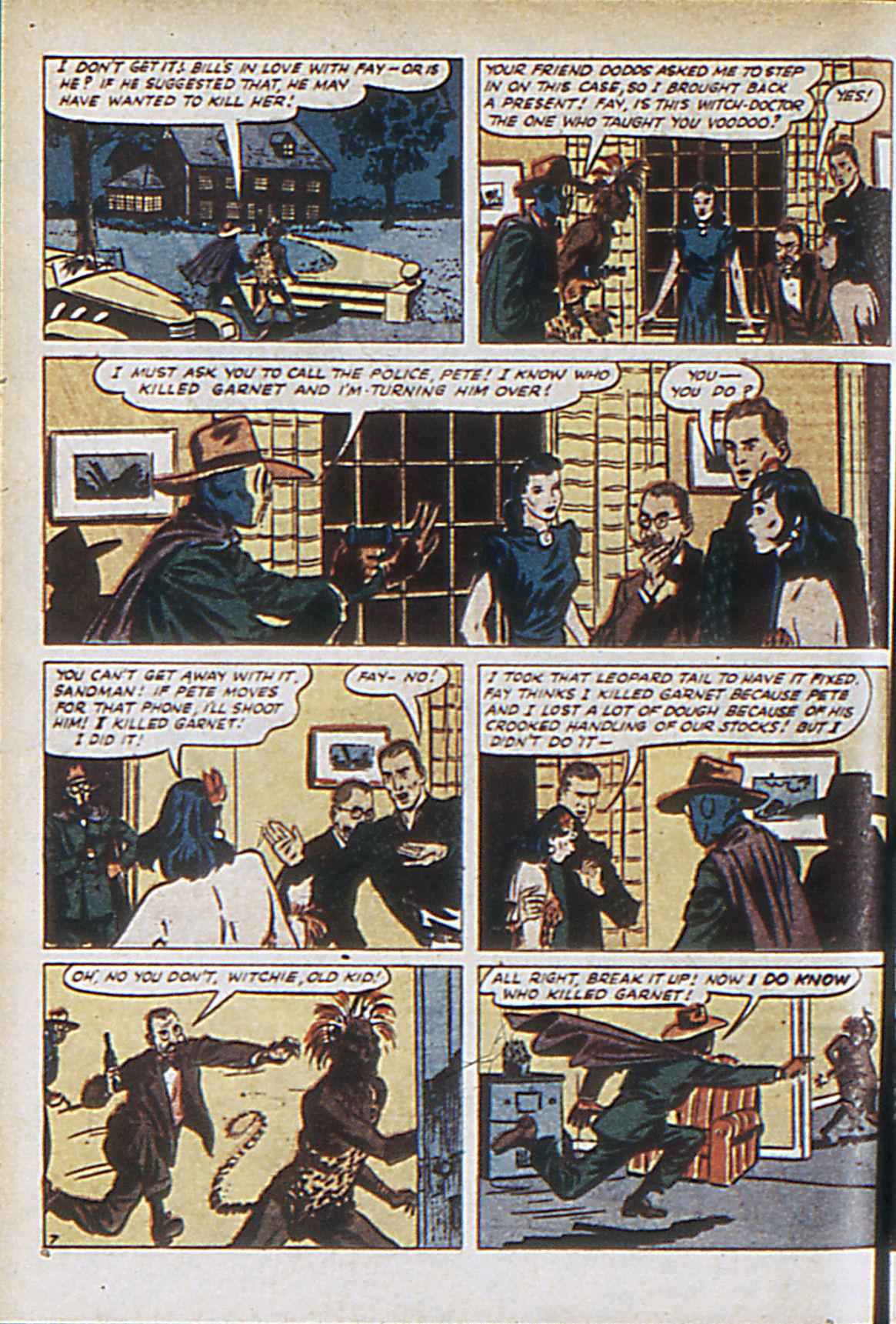 Read online Adventure Comics (1938) comic -  Issue #63 - 65