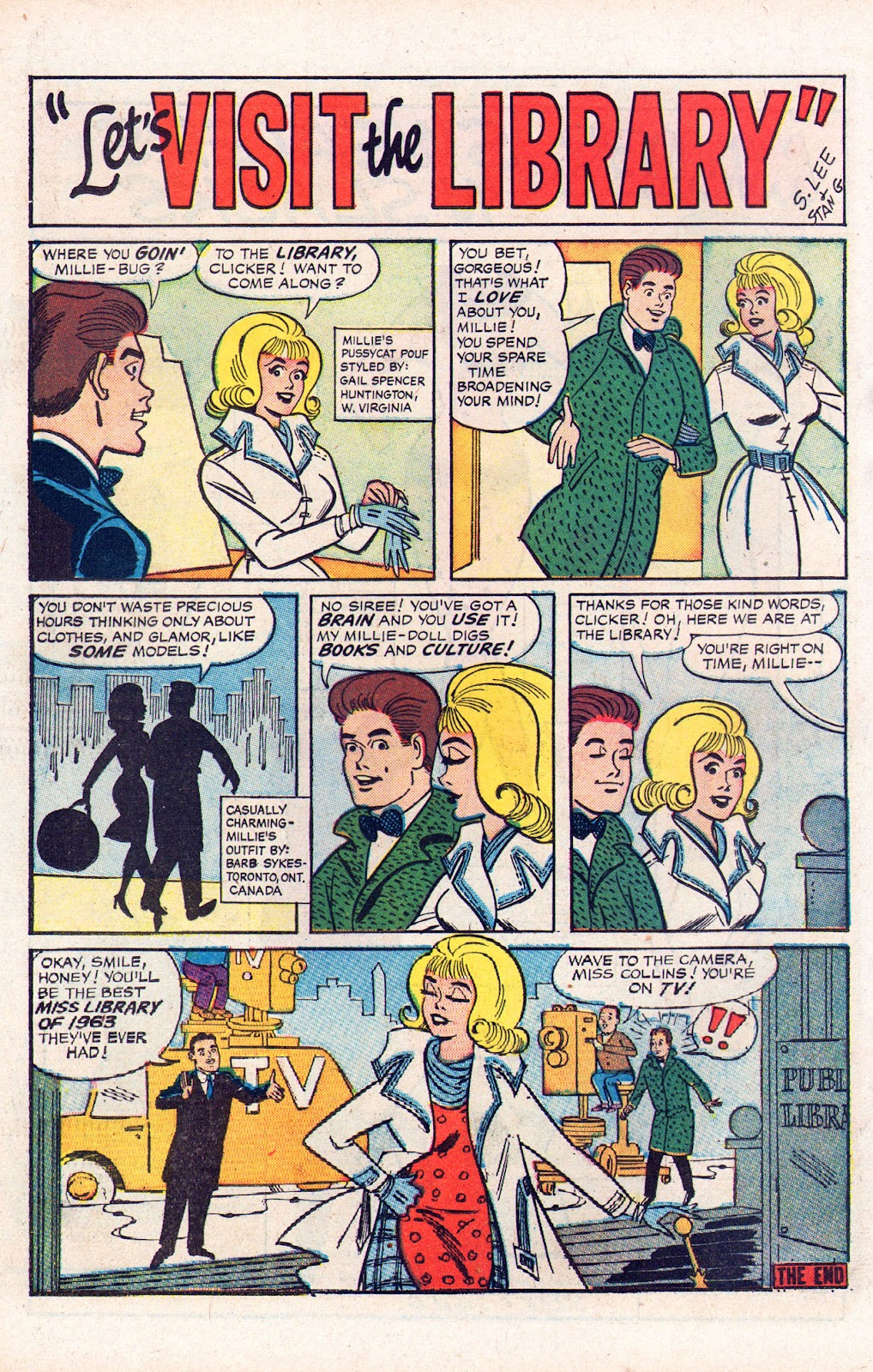 Read online Millie the Model comic -  Issue # Annual 2 - 50