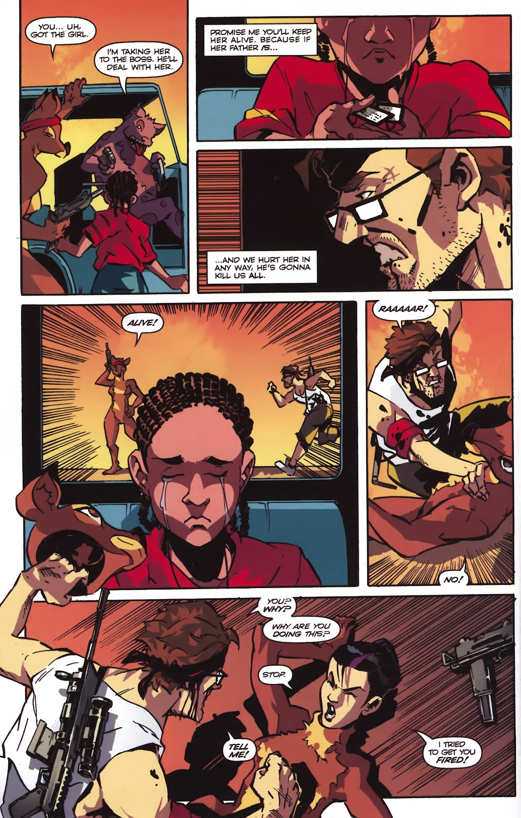 Read online Ricky Rouse Has A Gun comic -  Issue # TPB (Part 2) - 51