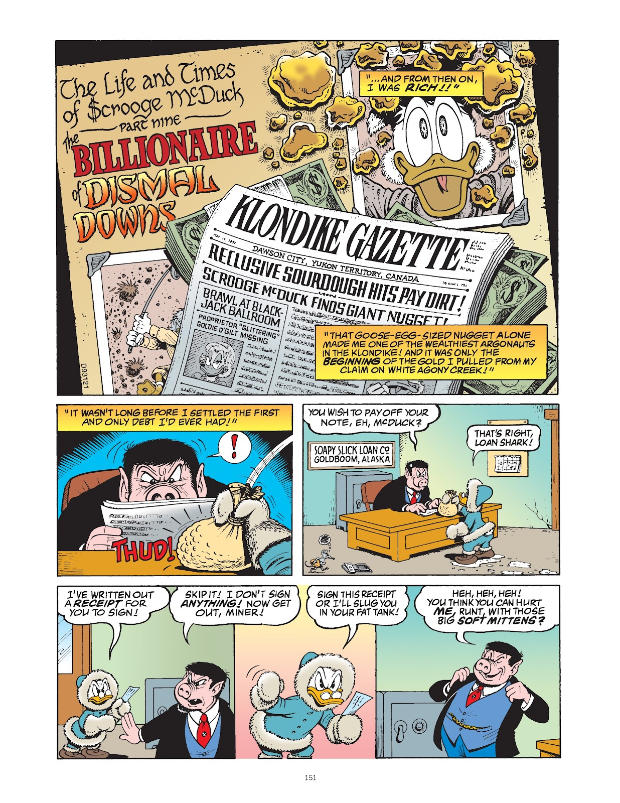 Read online The Complete Life and Times of Scrooge McDuck comic -  Issue # TPB 1 (Part 2) - 48