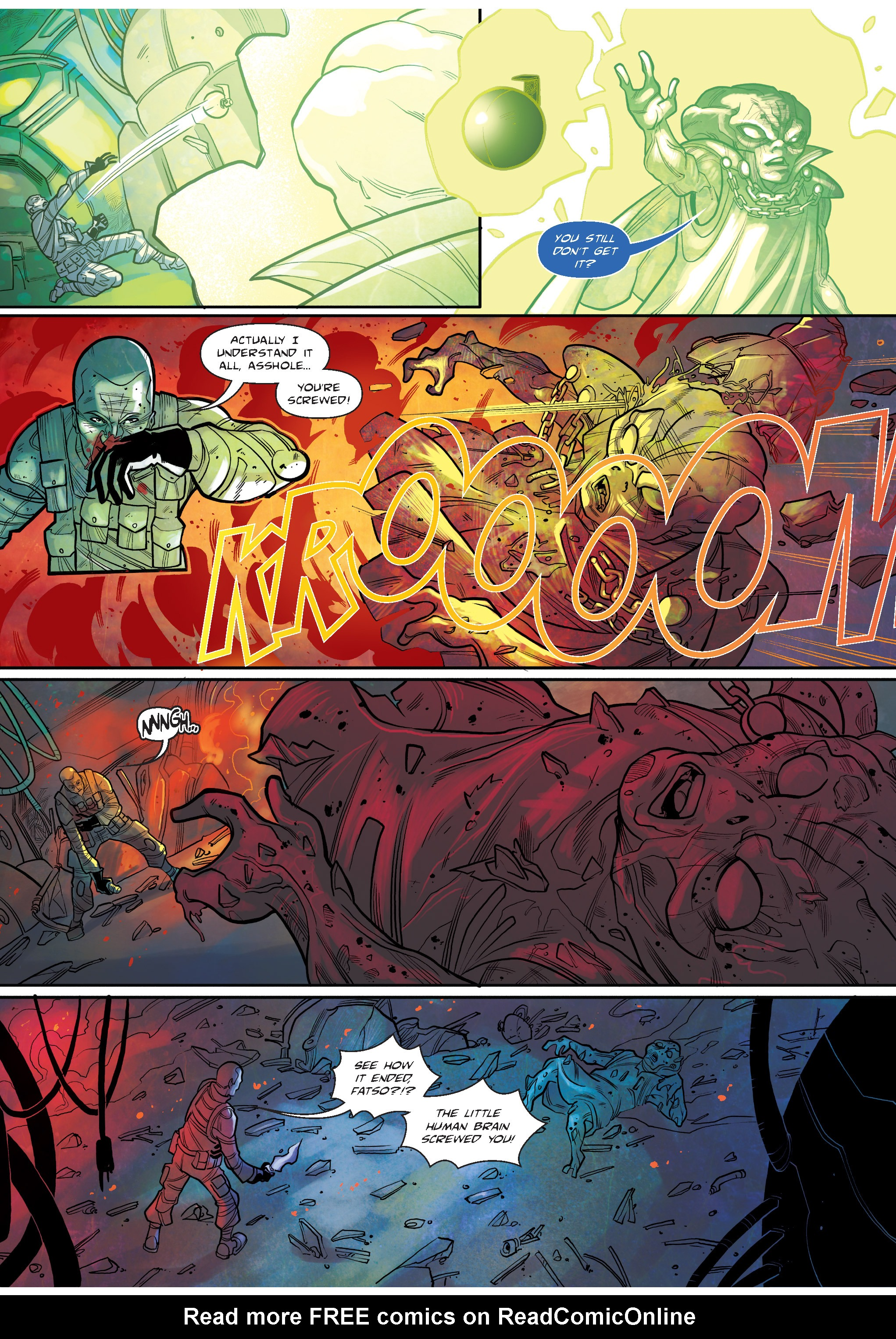 Read online The Shadow of a Terrible Thing comic -  Issue # TPB - 135