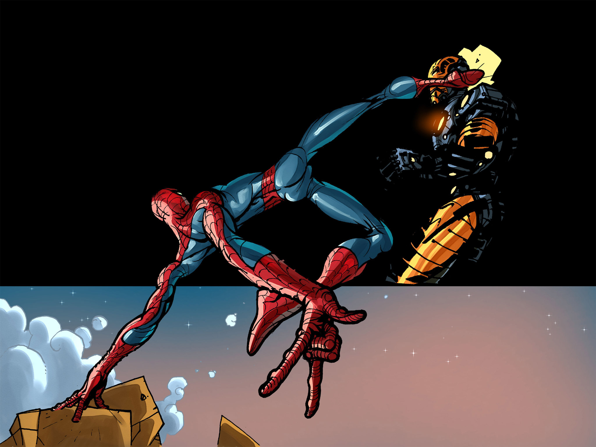 Read online Amazing Spider-Man: Who Am I? comic -  Issue # Full (Part 1) - 137