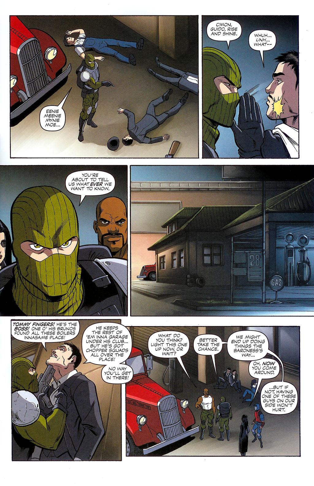 G.I. Joe vs. The Transformers II Issue #2 #3 - English 8