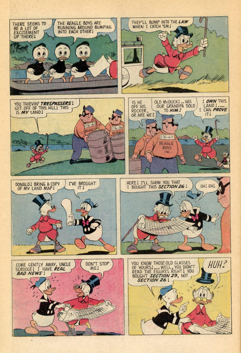 Read online Uncle Scrooge (1953) comic -  Issue #107 - 26