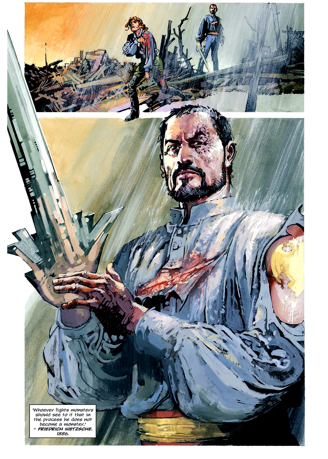 Read online Nikolai Dante comic -  Issue # TPB 4 - 100