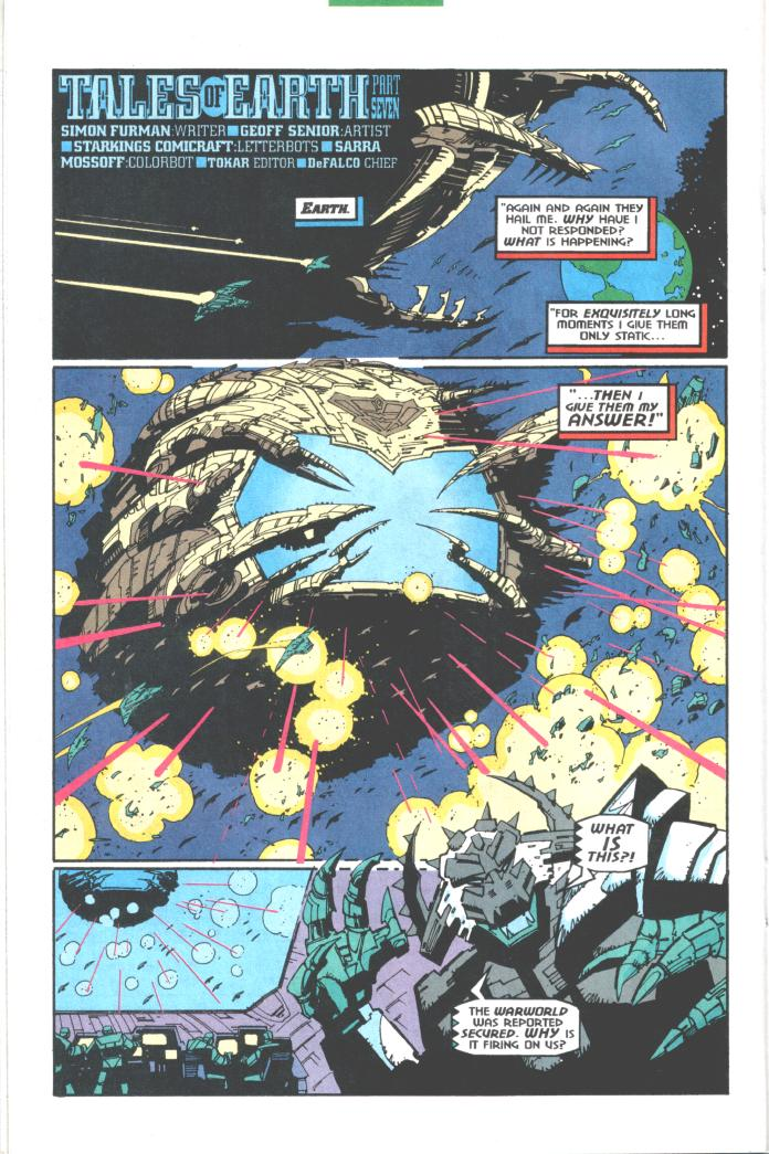 Read online Transformers: Generation 2 comic -  Issue #10 - 17