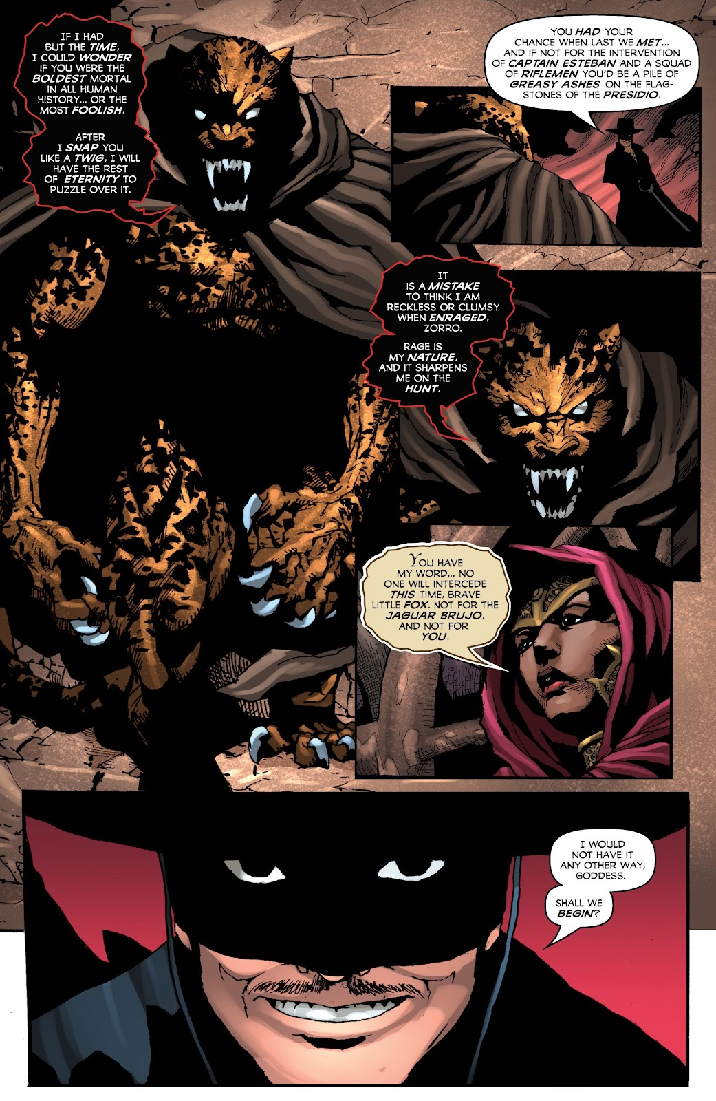 Read online Zorro: Swords of Hell comic -  Issue #4 - 7