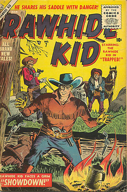 The Rawhide Kid (1955) issue 7 - Page 1