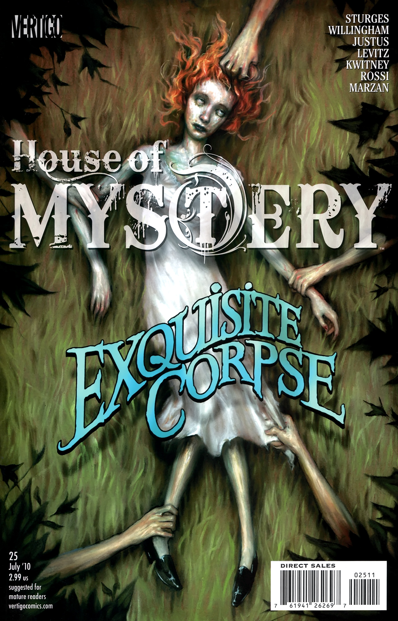 House of Mystery (2008) issue 25 - Page 1