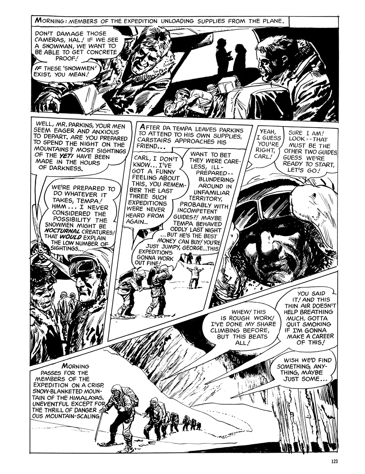 Read online Eerie Archives comic -  Issue # TPB 6 - 123
