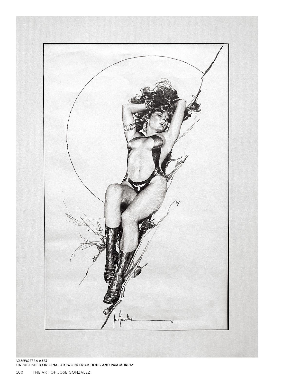 Read online The Art of Jose Gonzalez comic -  Issue # TPB (Part 2) - 2