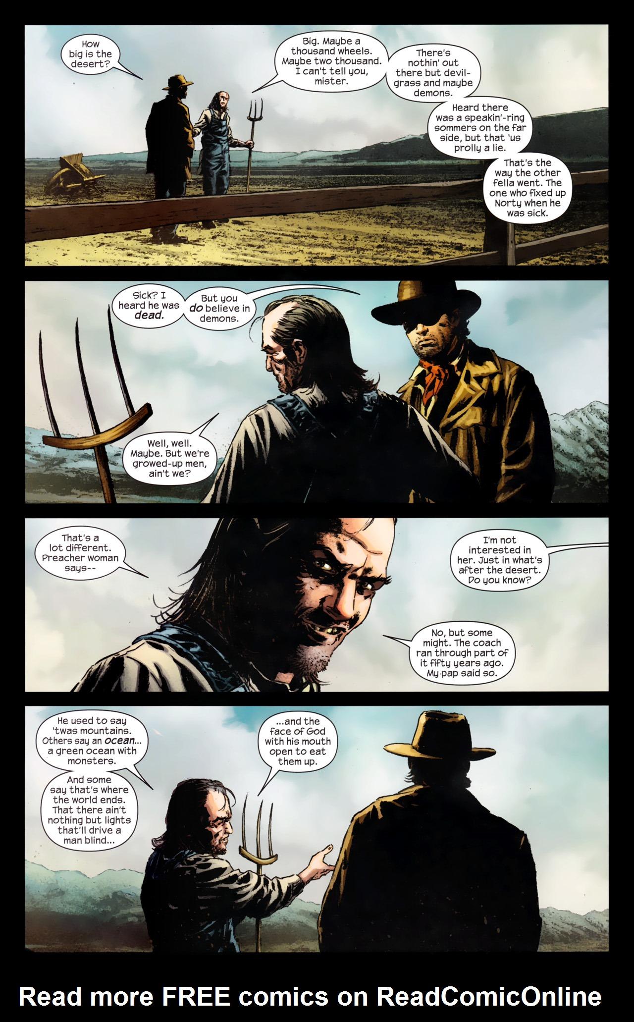 Read online Dark Tower: The Gunslinger - The Battle of Tull comic -  Issue #4 - 7