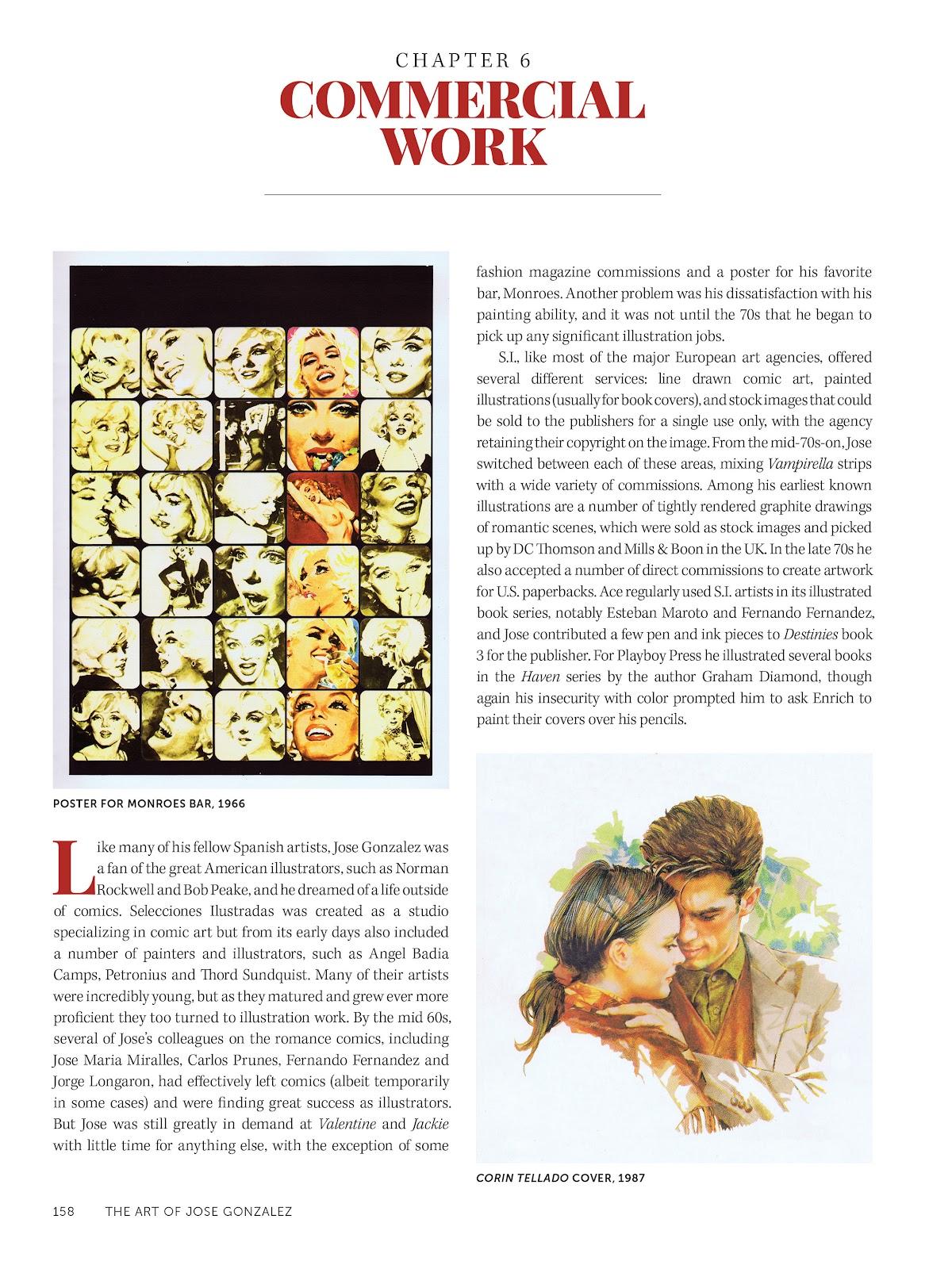 Read online The Art of Jose Gonzalez comic -  Issue # TPB (Part 2) - 60