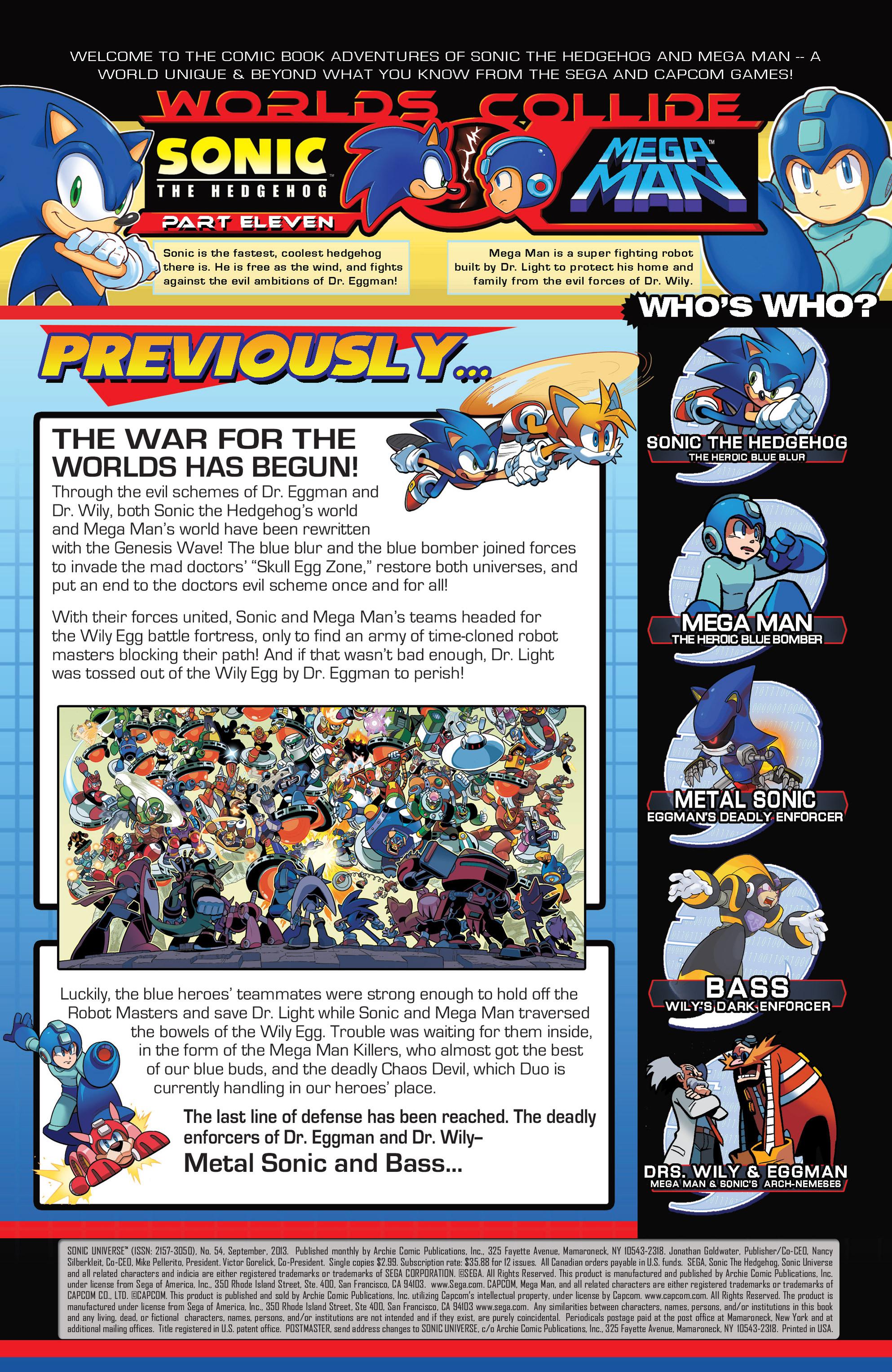 Read online Sonic Mega Man Worlds Collide comic -  Issue # Vol 3 - 72