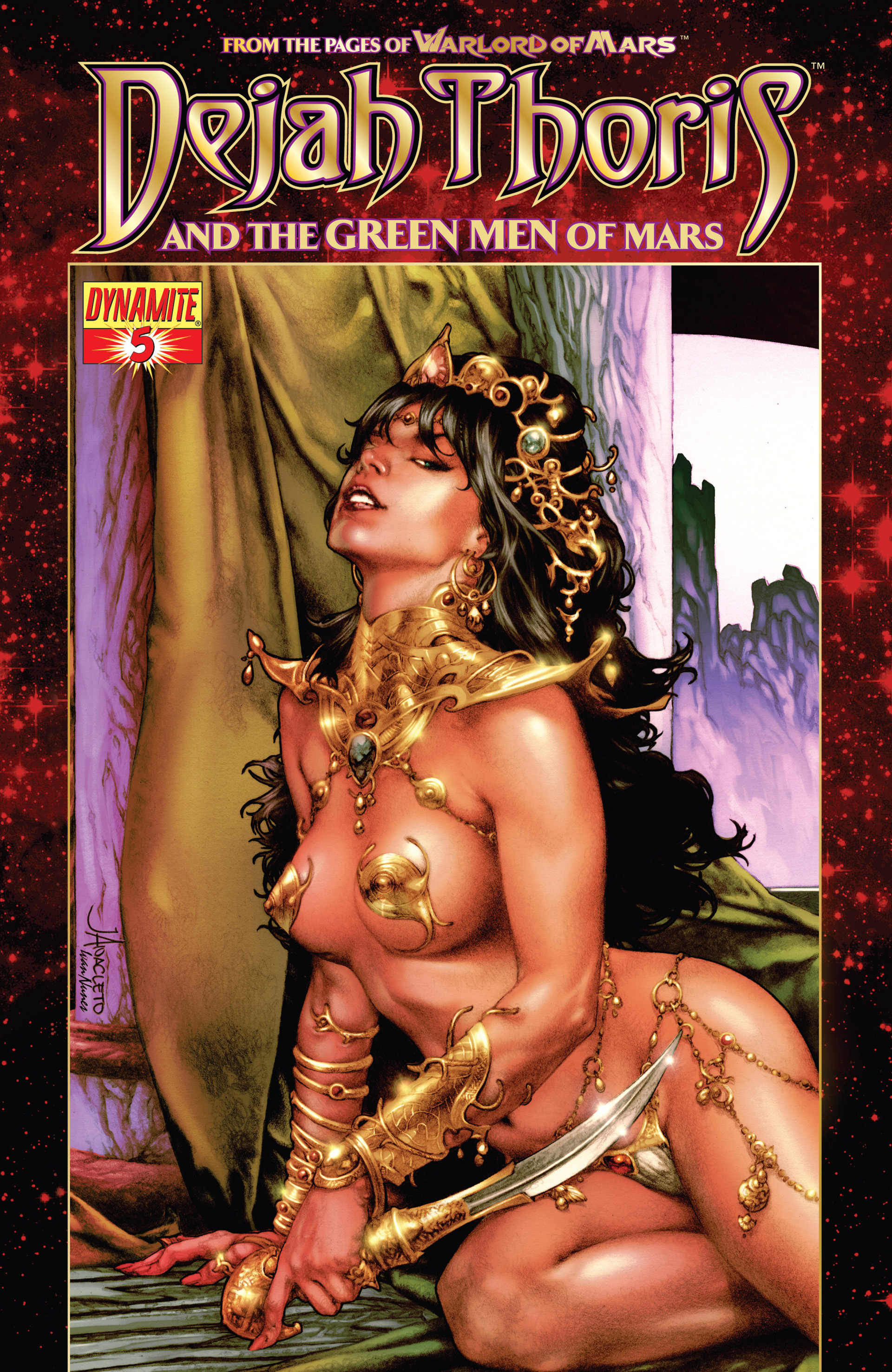 Dejah Thoris and the Green Men of Mars issue 5 - Page 1