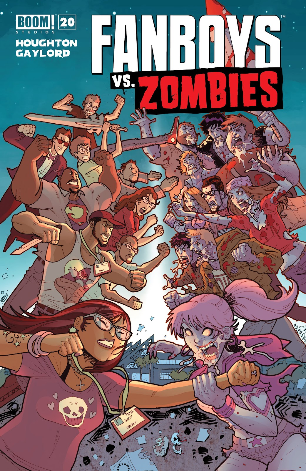 Fanboys vs. Zombies issue 20 - Page 1