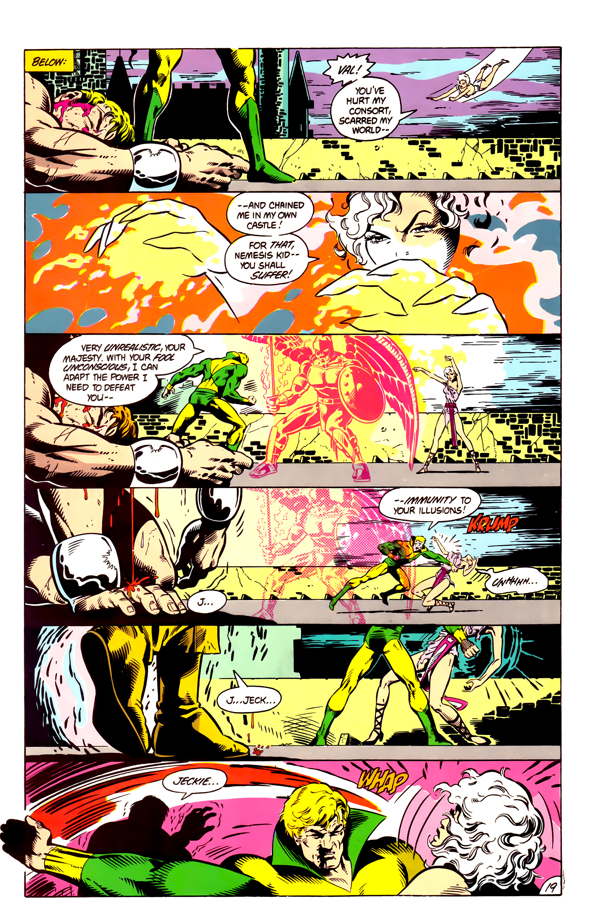 Legion of Super-Heroes (1984) 4 Page 20