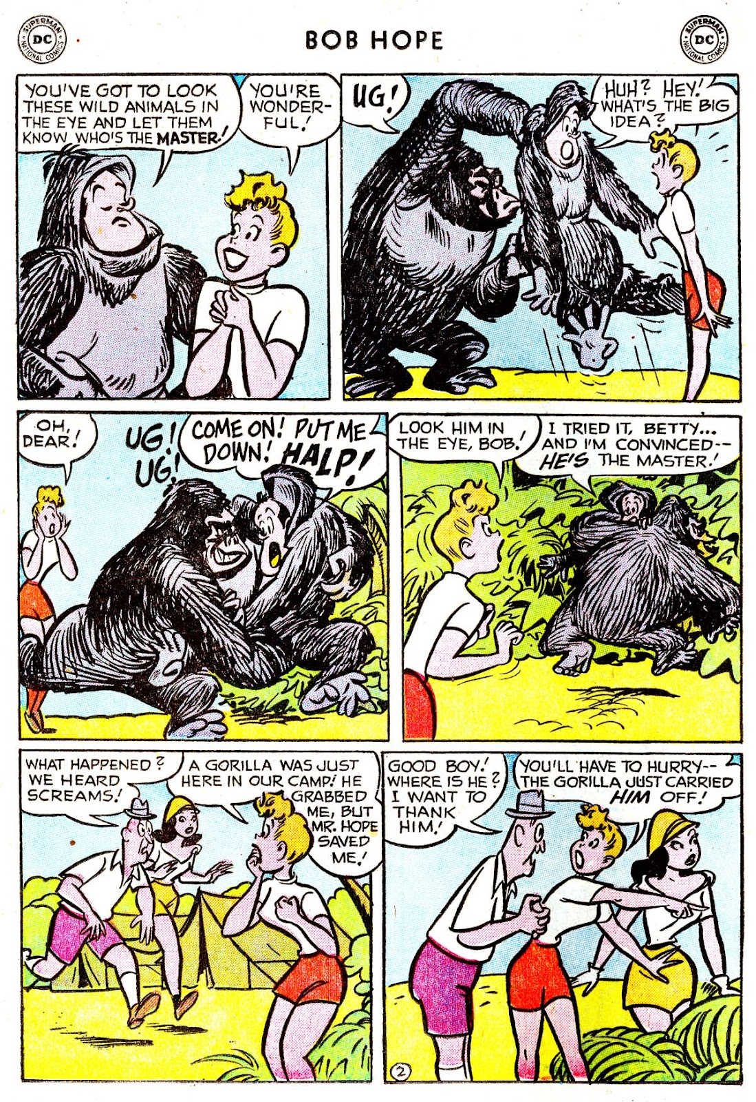 The Adventures of Bob Hope issue 33 - Page 16