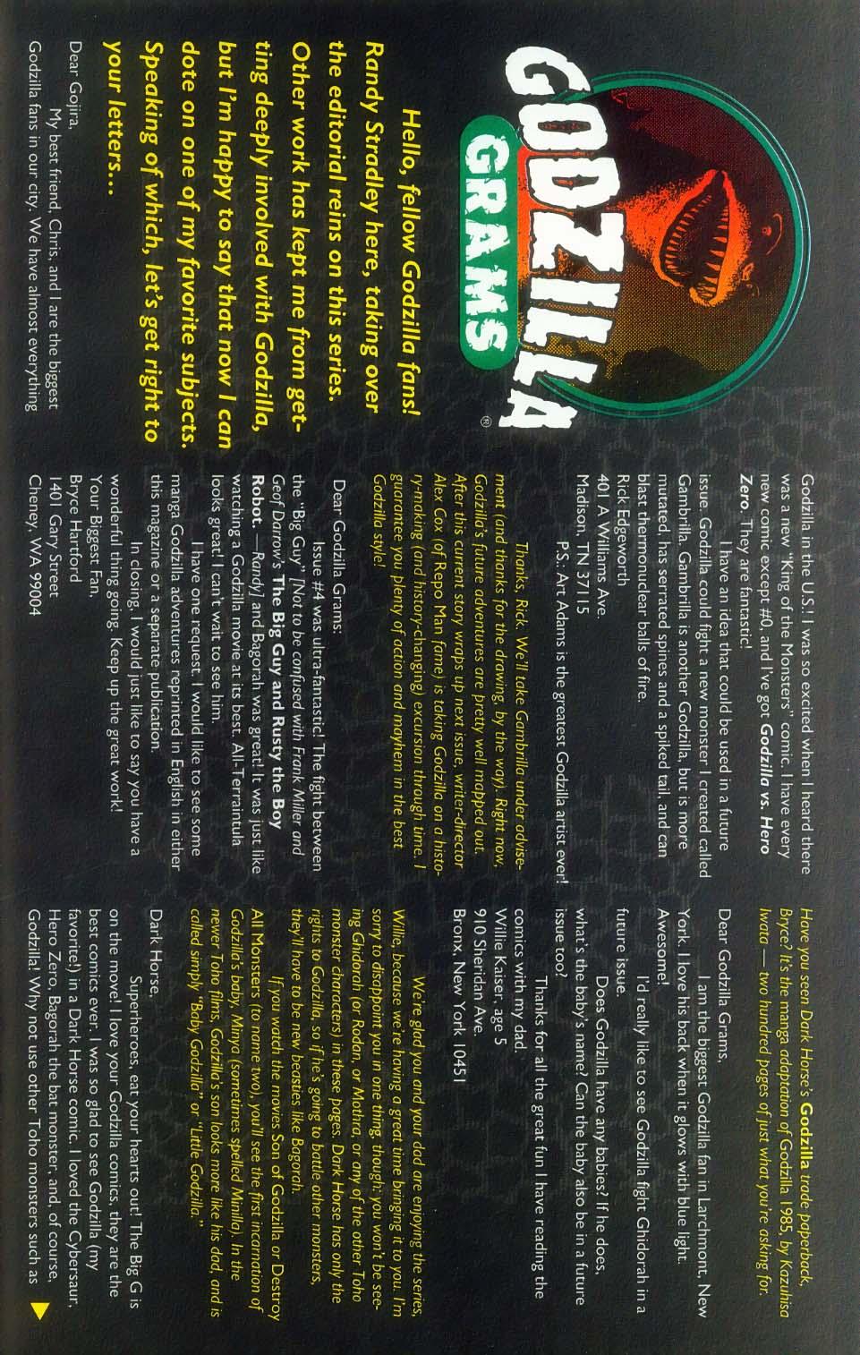 Godzilla (1995) Issue #7 #8 - English 28