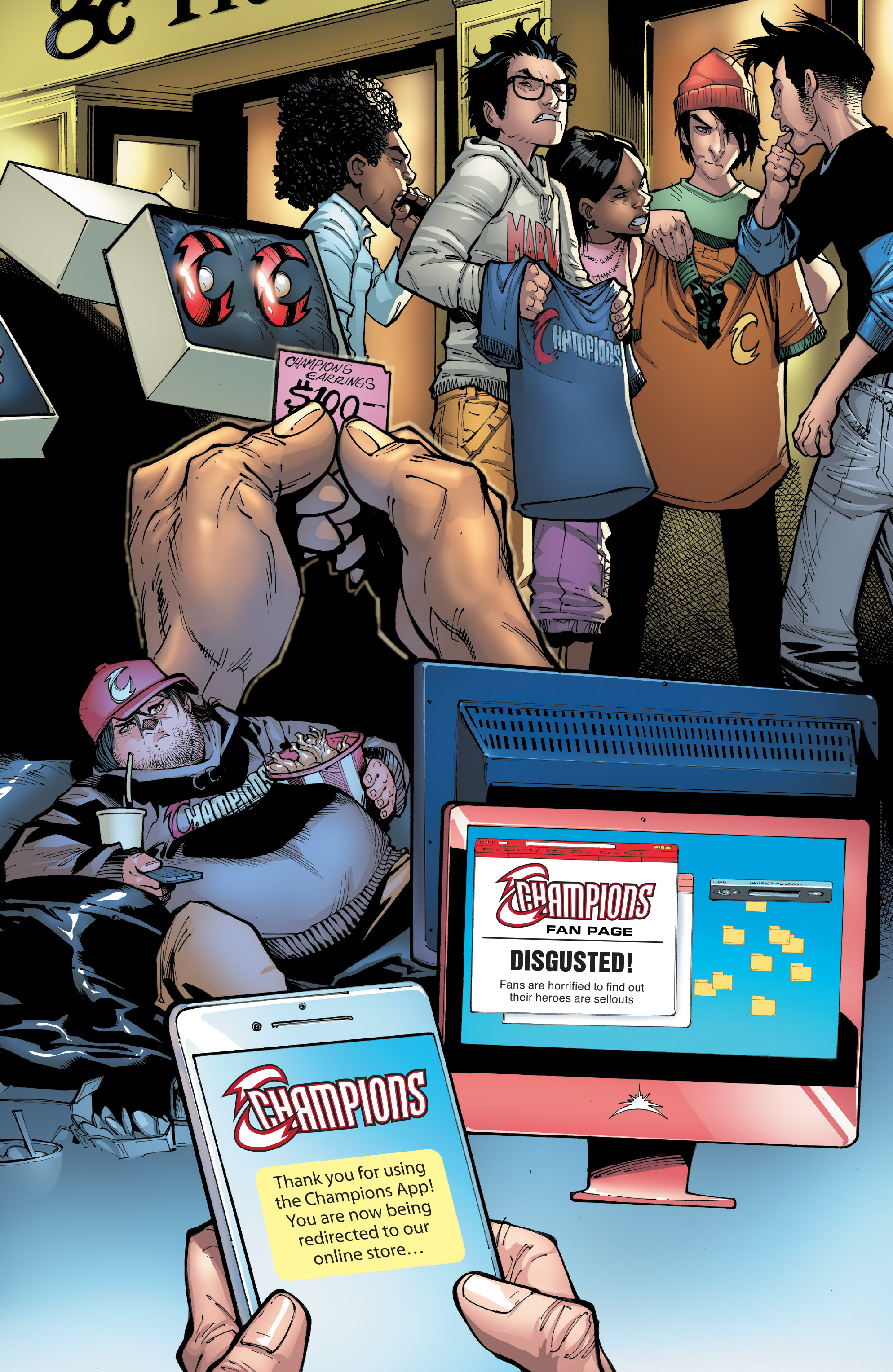 Read online Champions (2016) comic -  Issue #8 - 10
