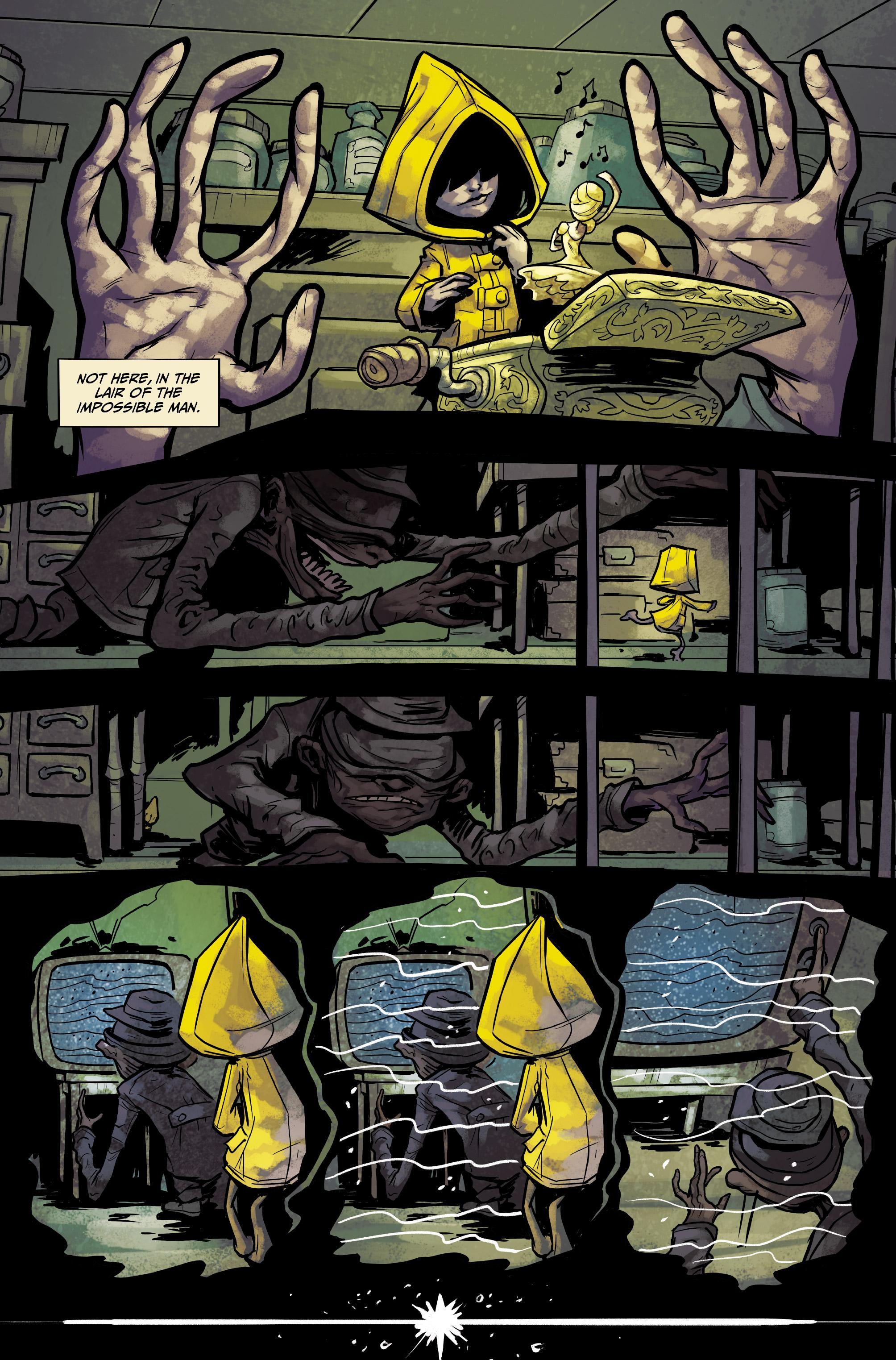 Read online Little Nightmares comic -  Issue #1 - 8