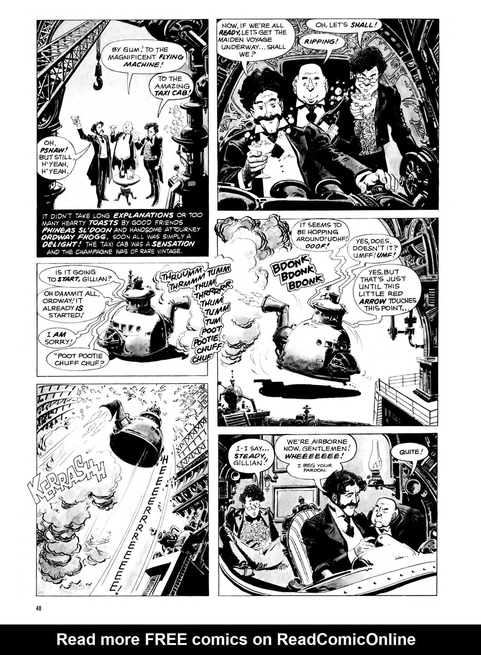 Read online Eerie Archives comic -  Issue # TPB 16 - 49