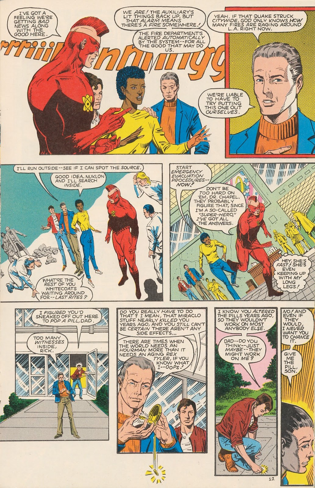 Infinity Inc. (1984) issue 20 - Page 17