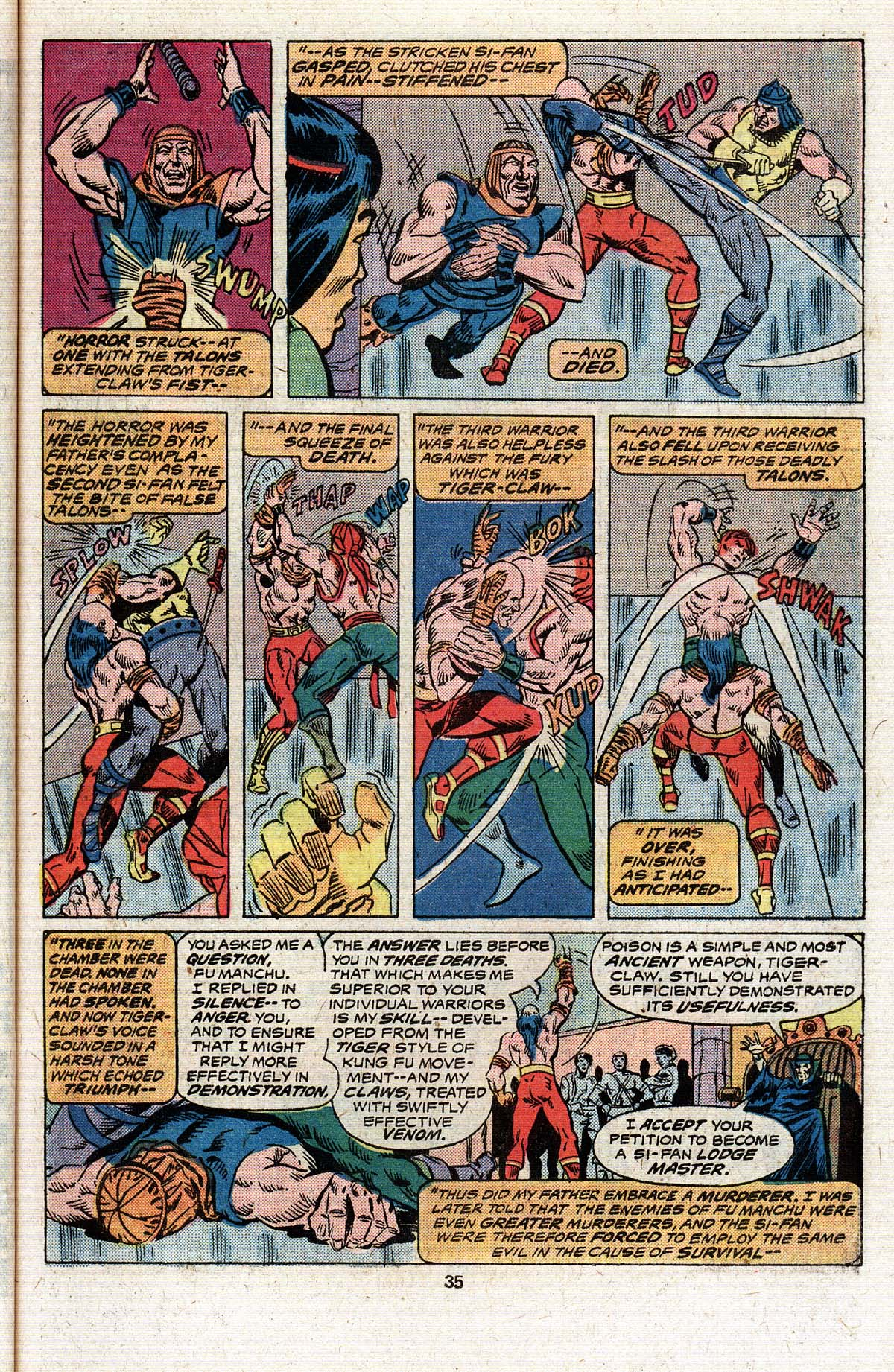 Read online Giant-Size Master of Kung Fu comic -  Issue #4 - 28