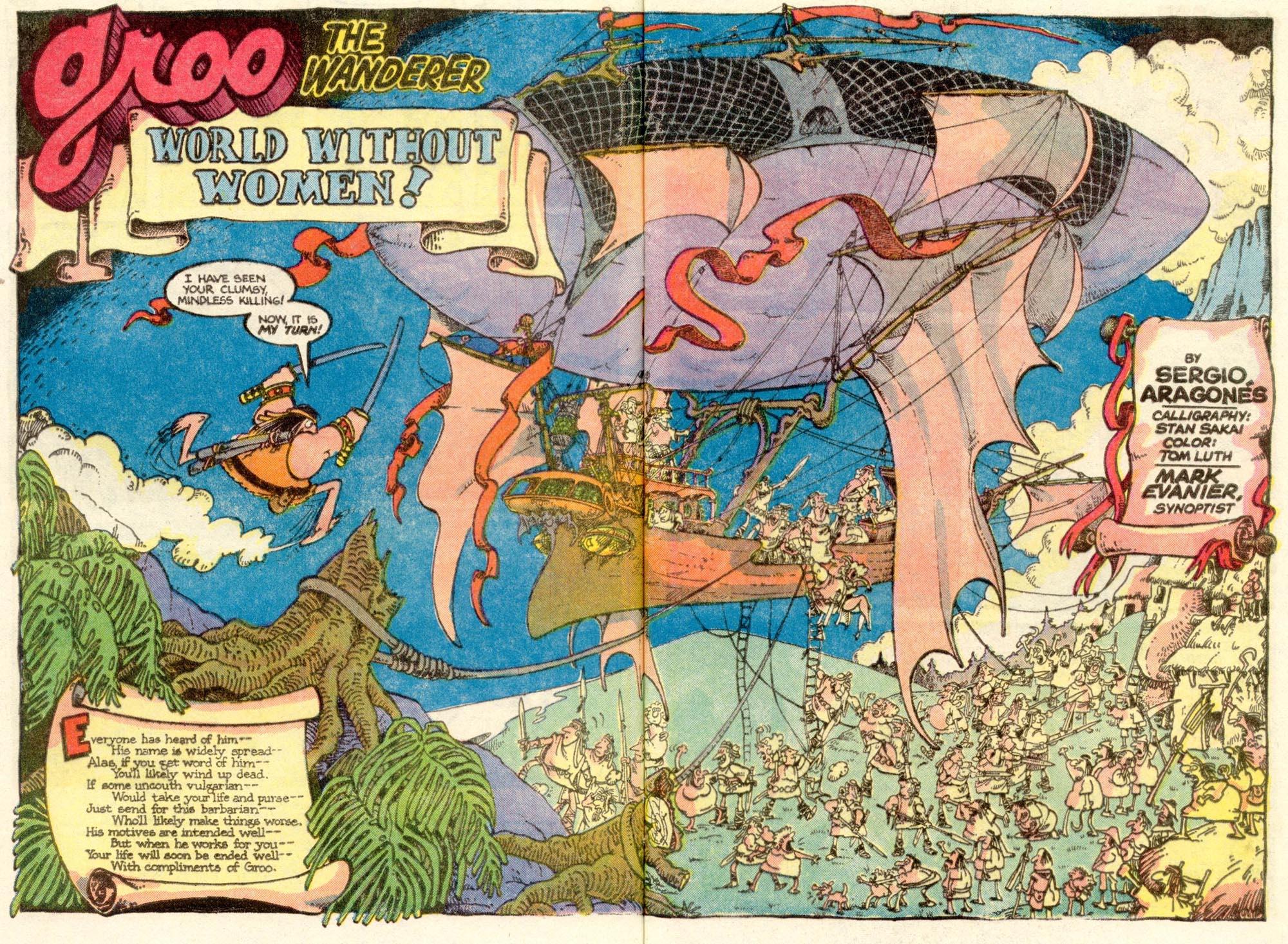 Read online Sergio Aragonés Groo the Wanderer comic -  Issue #4 - 3