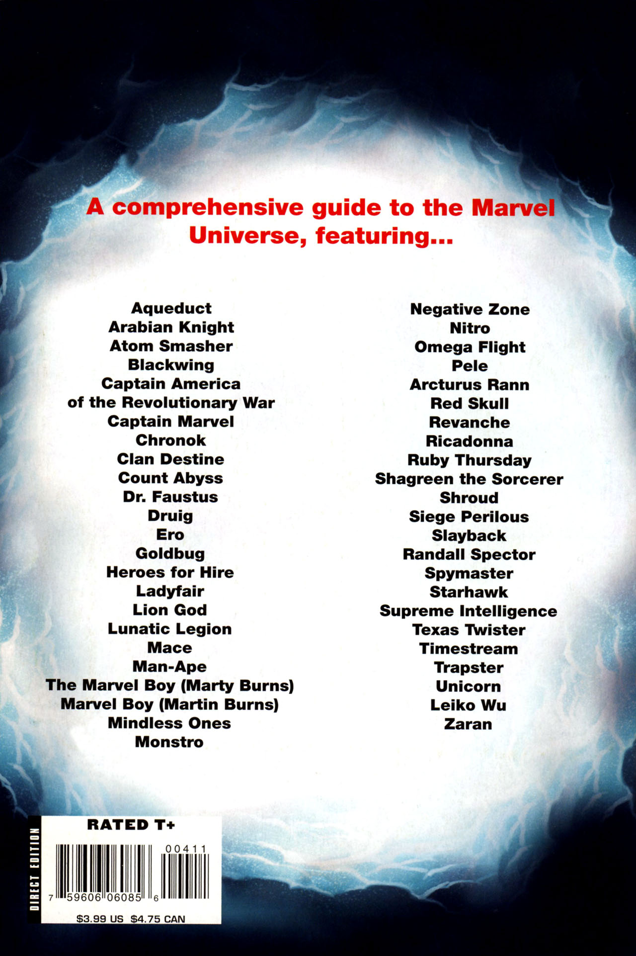 Read online All-New Official Handbook of the Marvel Universe A to Z: Update comic -  Issue #4 - 68