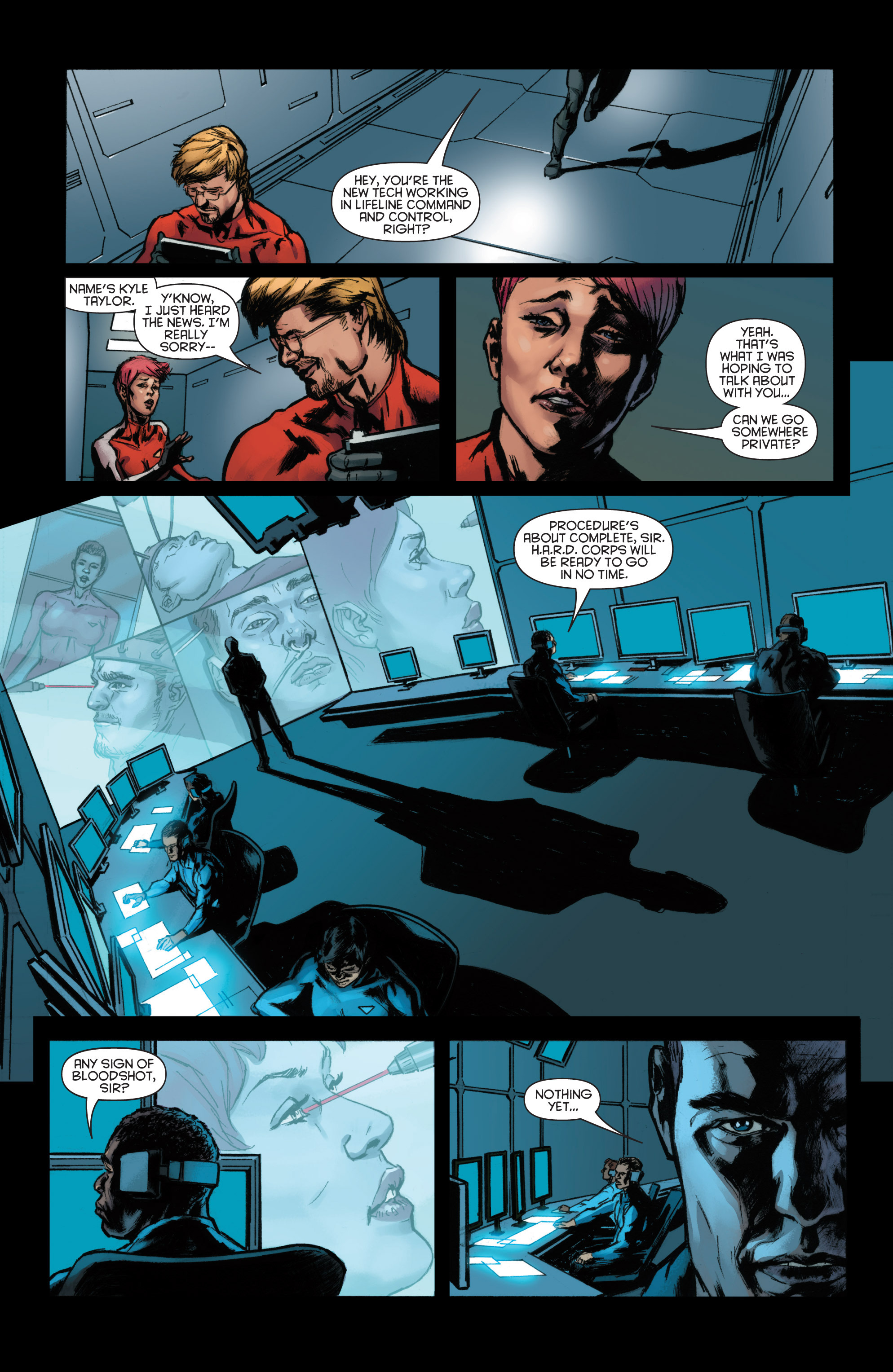 Read online Bloodshot and H.A.R.D.Corps comic -  Issue #22 - 11
