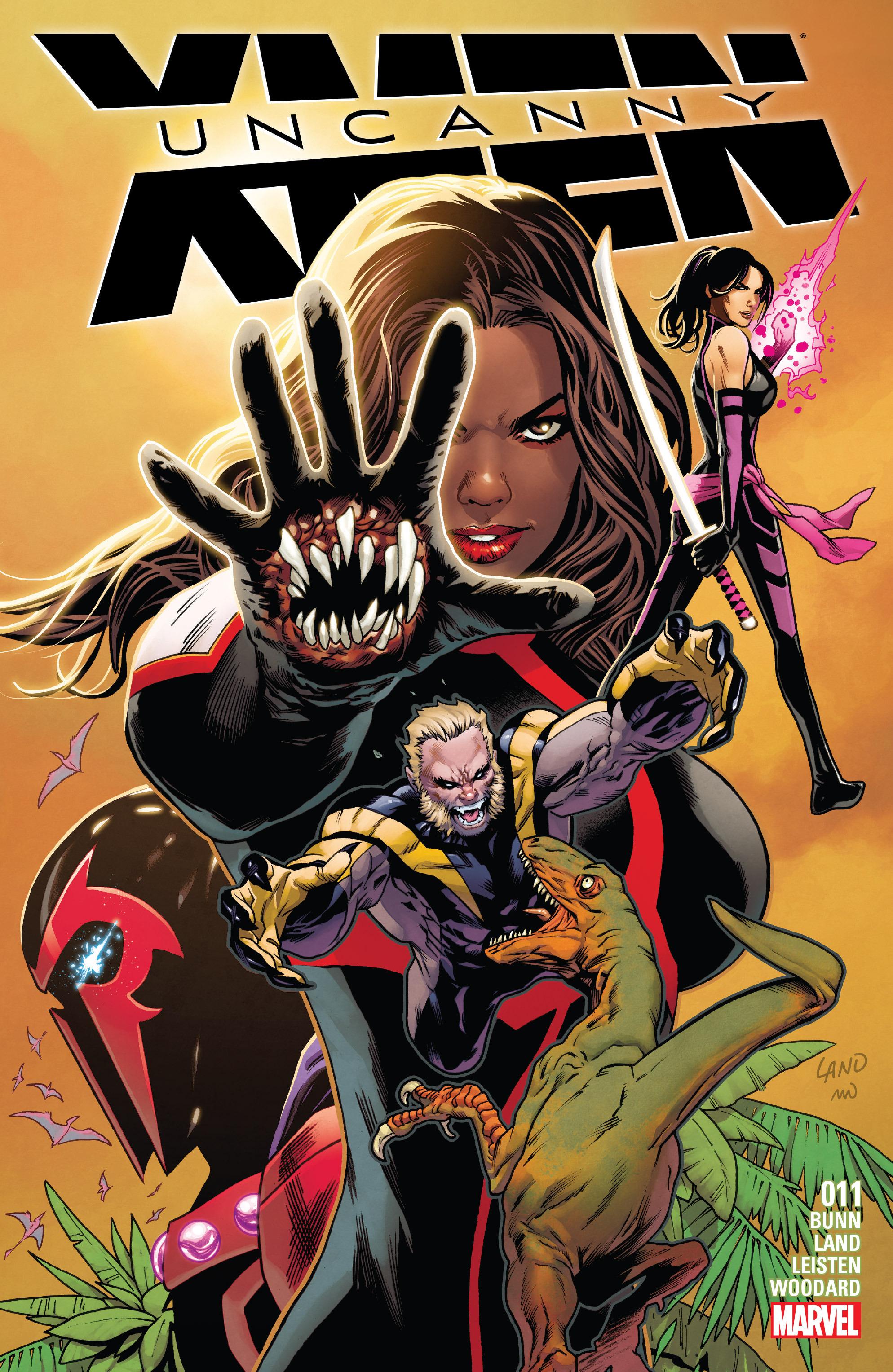 Read online Uncanny X-Men (2016) comic -  Issue #11 - 1